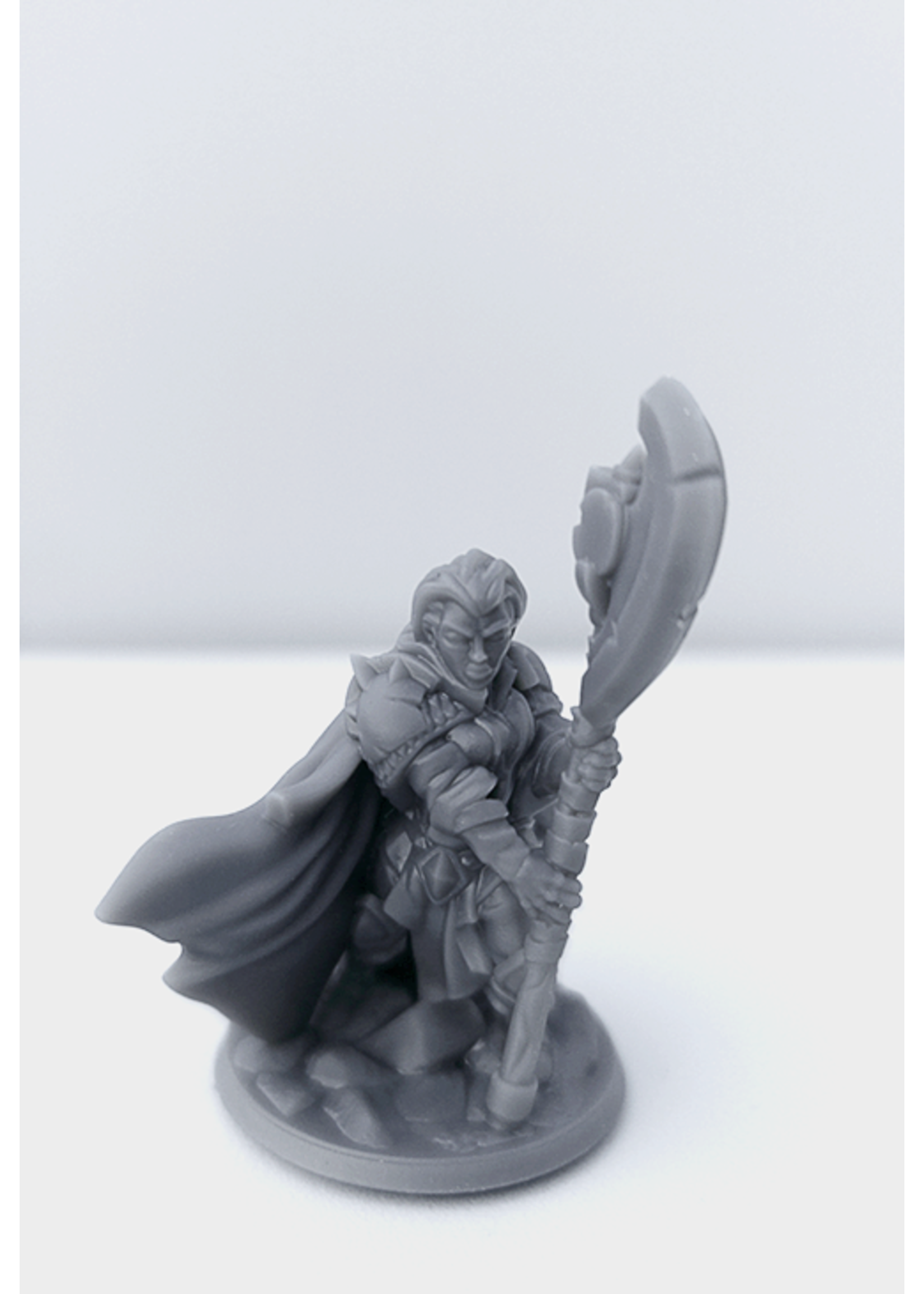 3D Printed Miniature - Cleric Female 02 - Dungeons & Dragons - Hero of the Realm KS