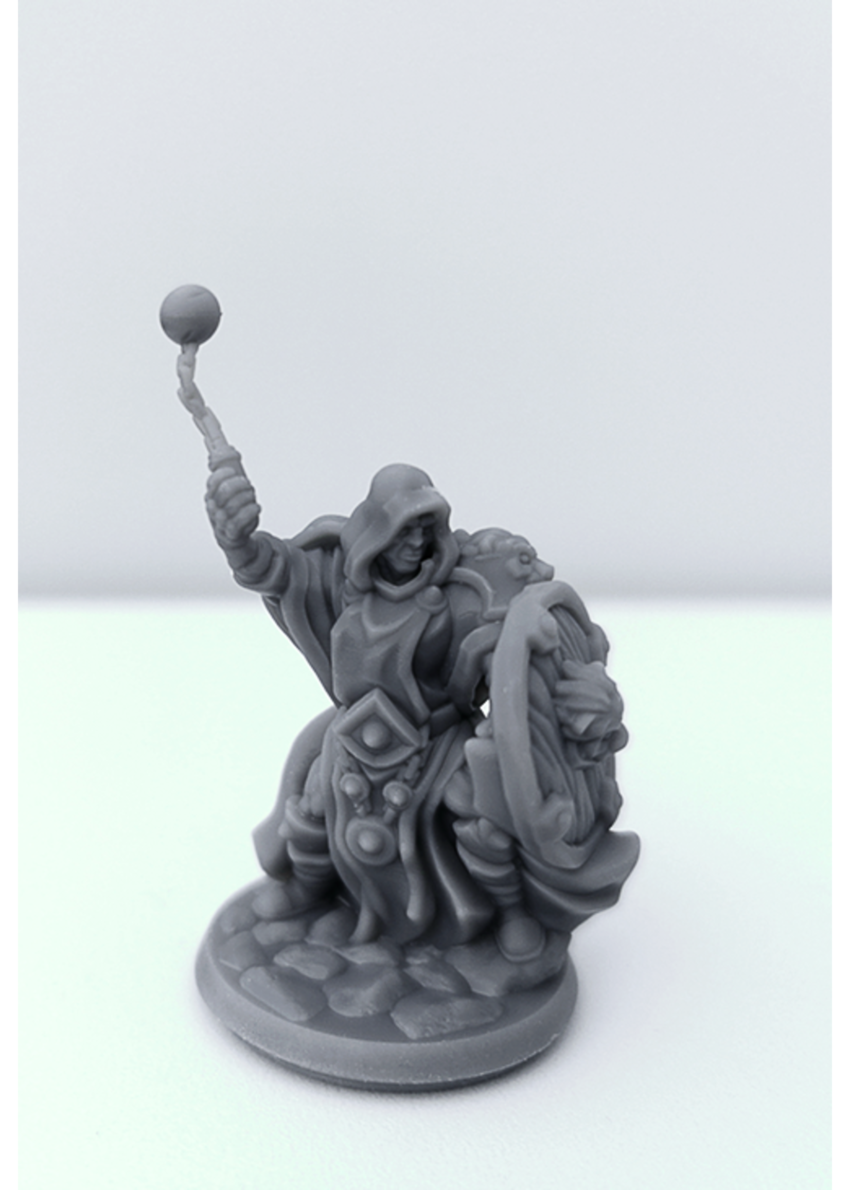 3D Printed Miniature - Cleric Male 02 - Dungeons & Dragons - Hero of the Realm KS
