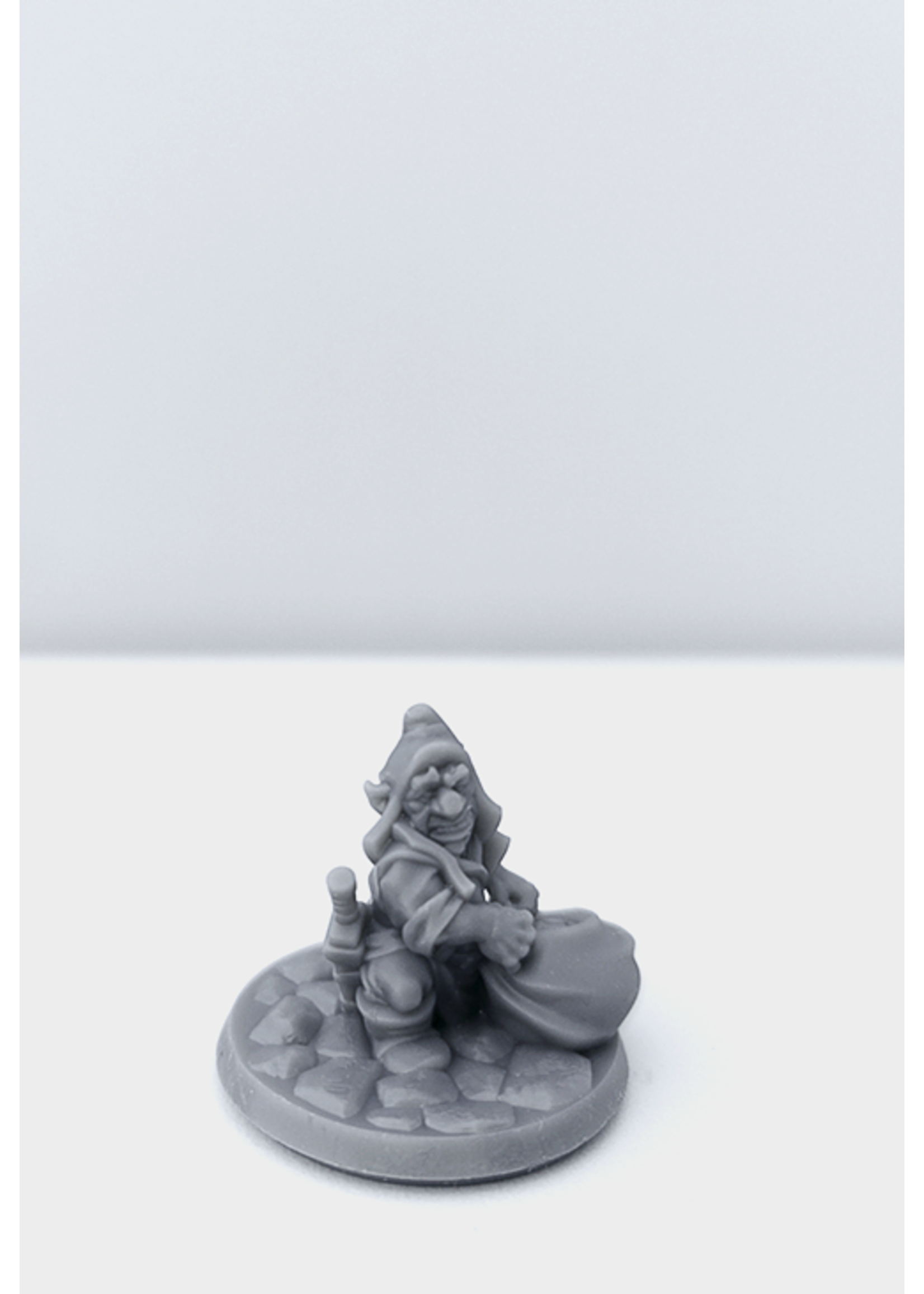3D Printed Miniature - Gnome Male 01 - Dungeons & Dragons - Hero of the Realm KS