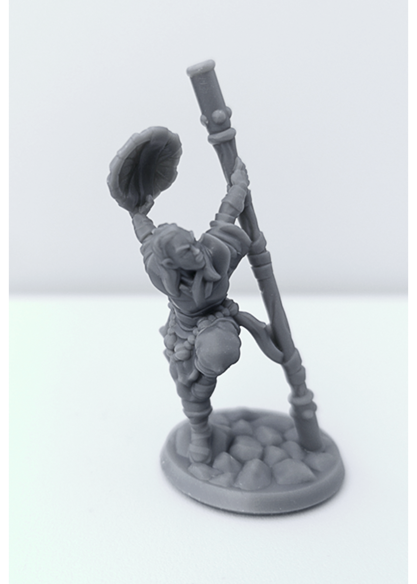 3D Printed Miniature - Monk Female 01 - Dungeons & Dragons - Hero of the Realm KS