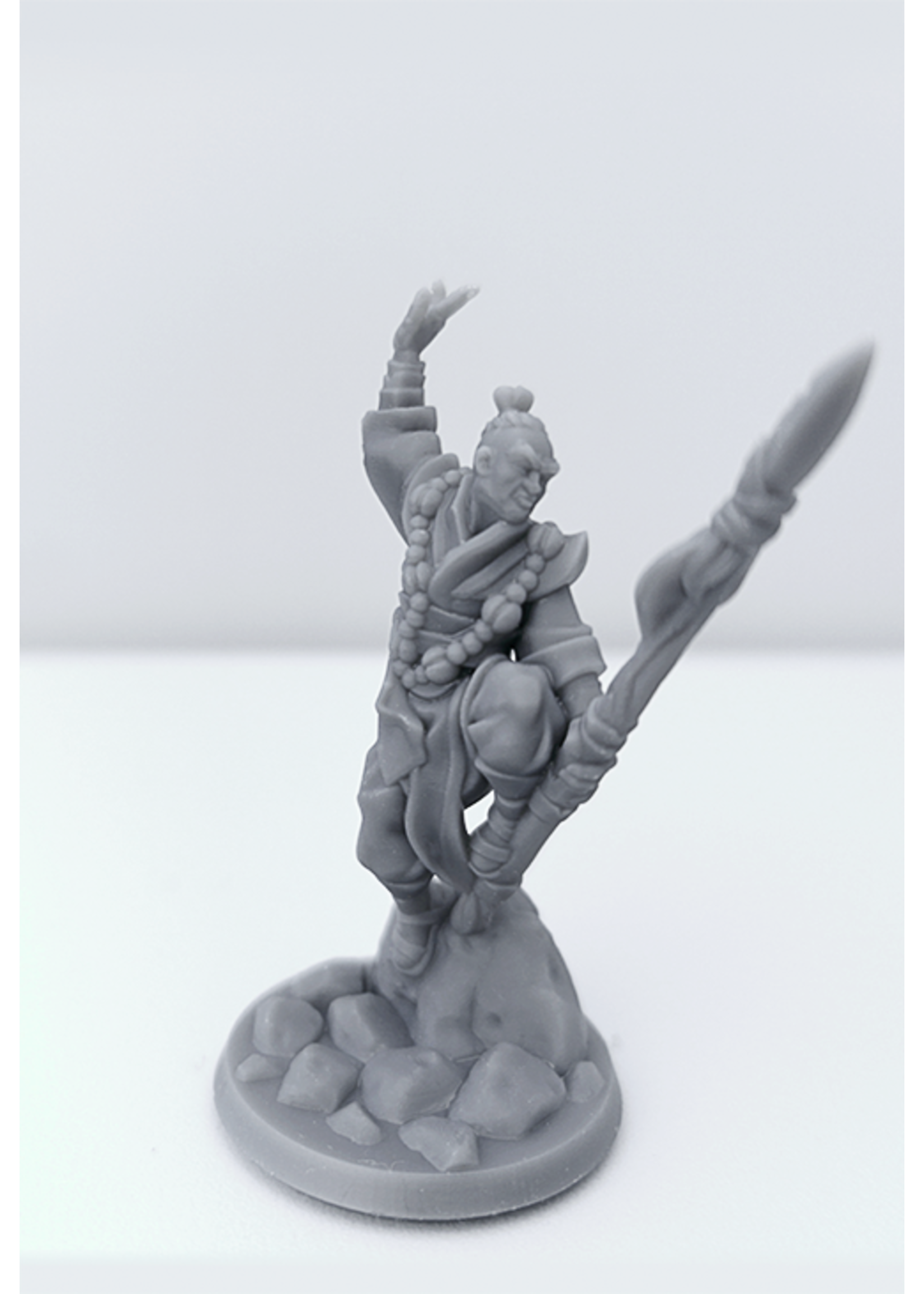 3D Printed Miniature - Monk Male 01 - Dungeons & Dragons - Hero of the Realm KS