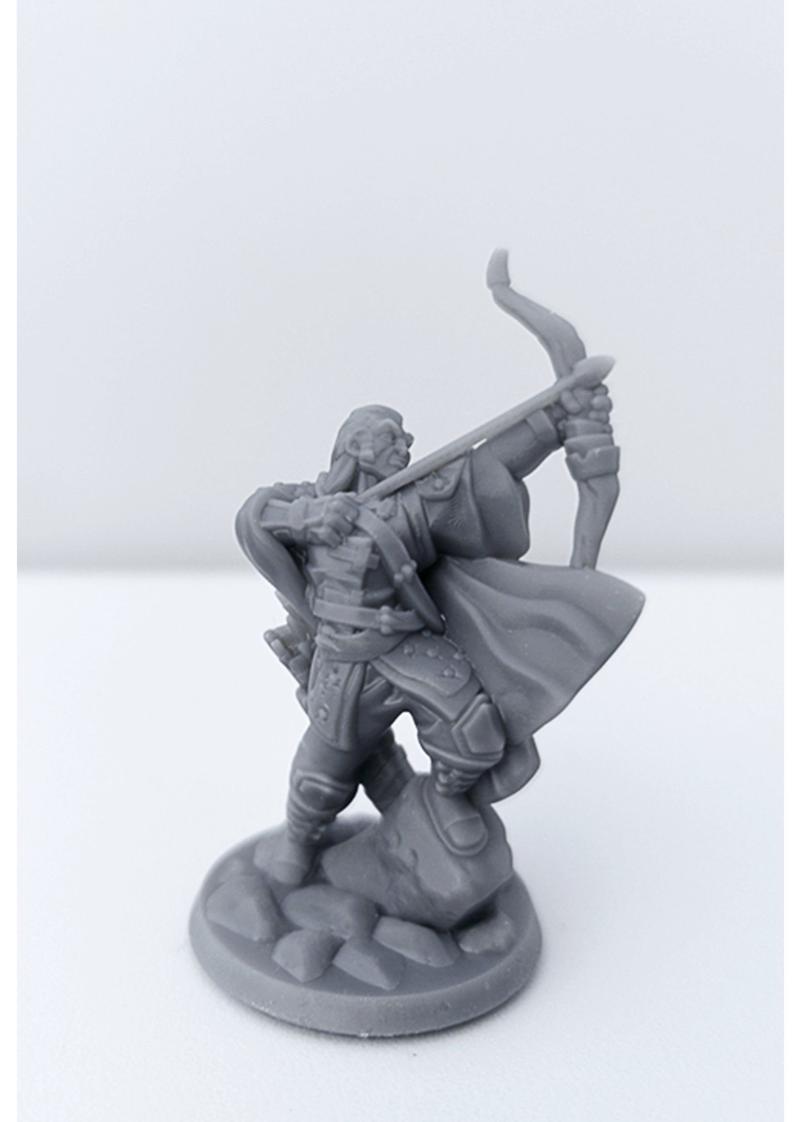 3D Printed Miniature - Ranger Male 01 - Dungeons & Dragons - Hero of the Realm KS