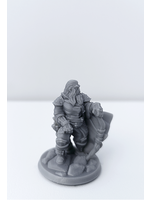 3D Printed Miniature - Ranger Male 02 - Dungeons & Dragons - Hero of the Realm KS