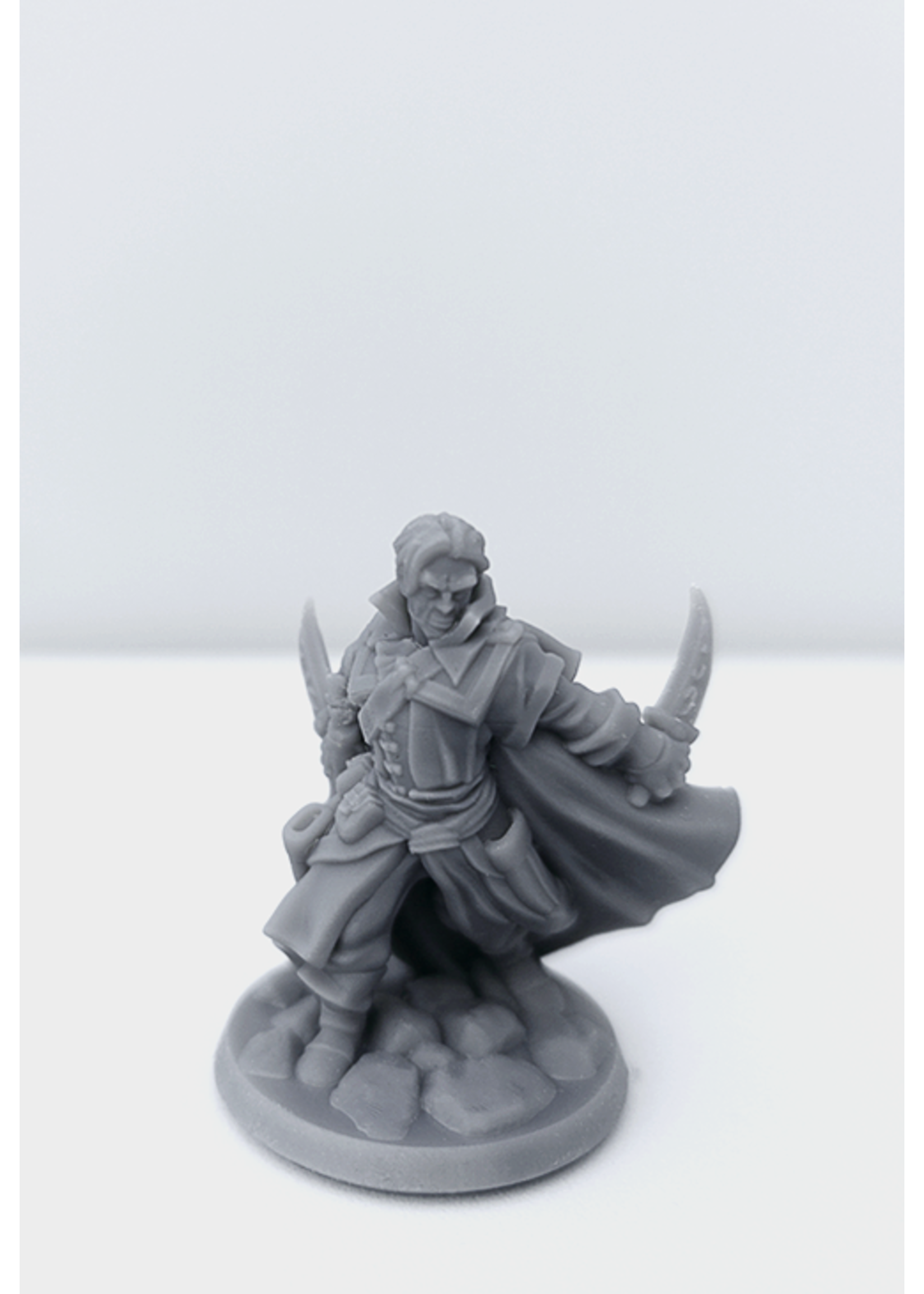 3D Printed Miniature - Thief Male 02 - Dungeons & Dragons - Hero of the Realm KS