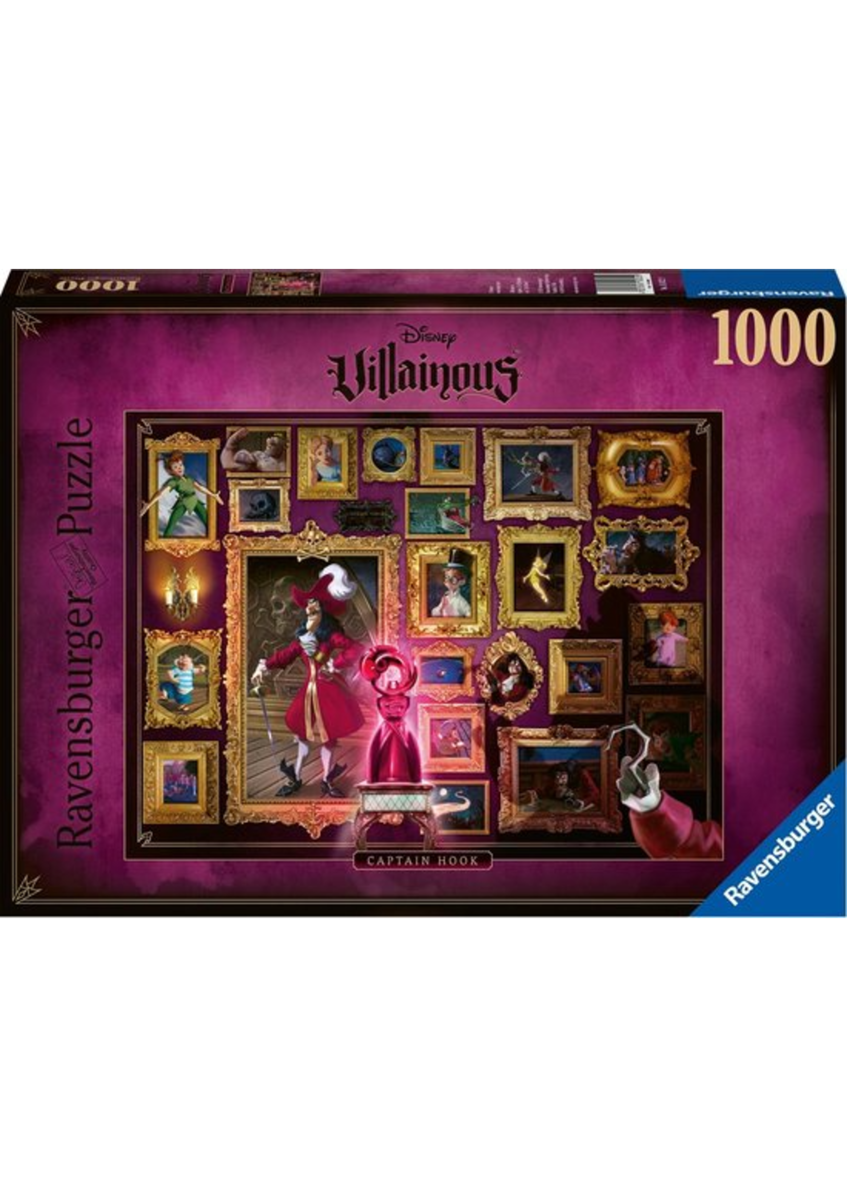 Disney Villainous - Captain Hook  (1000)