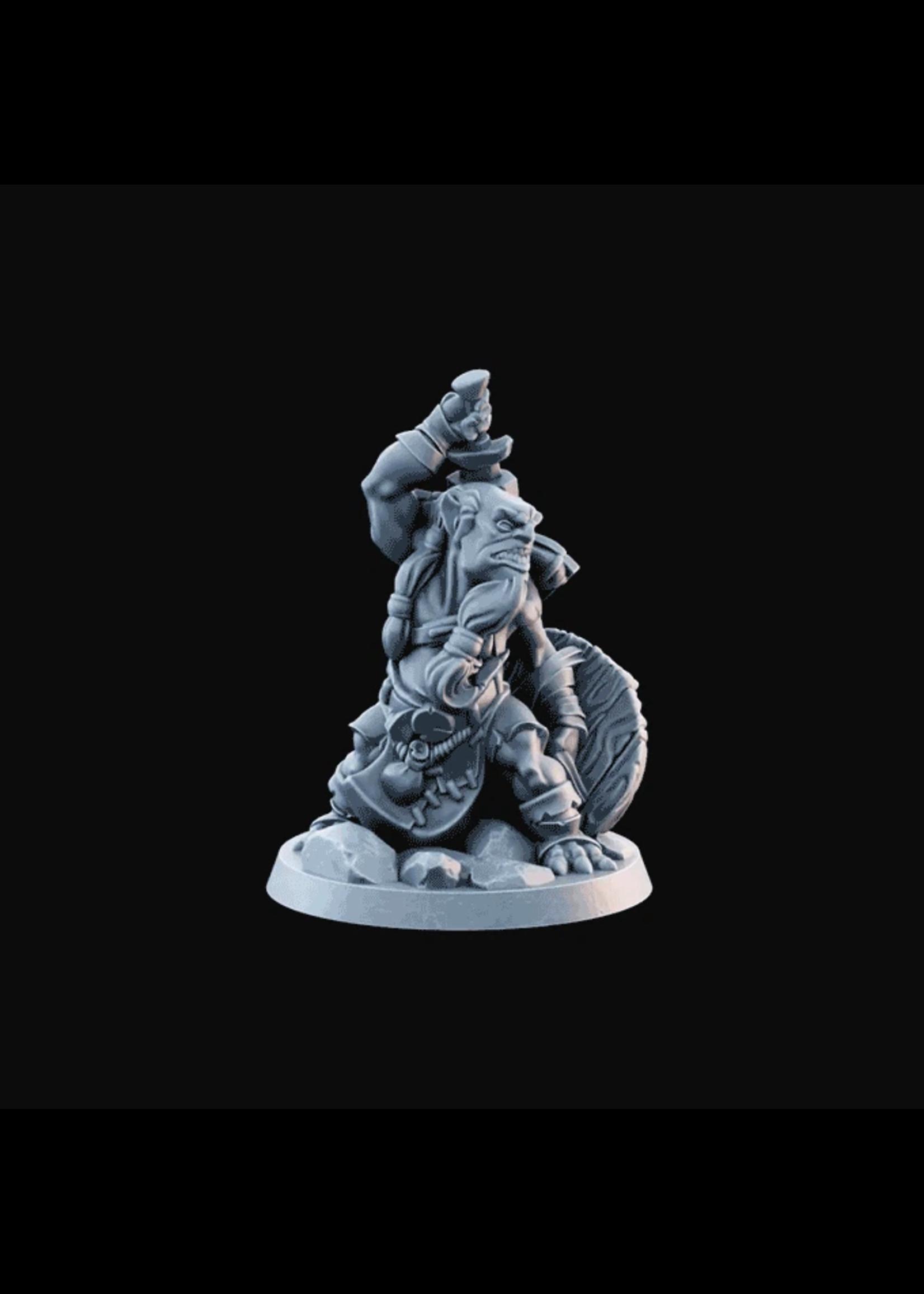 3D Printed Miniature - Goblin02  - Dungeons & Dragons - Desolate Plains KS