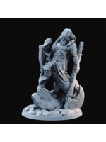 3D Printed Miniature - Centaur 04 Stoic  - Dungeons & Dragons - Desolate Plains KS