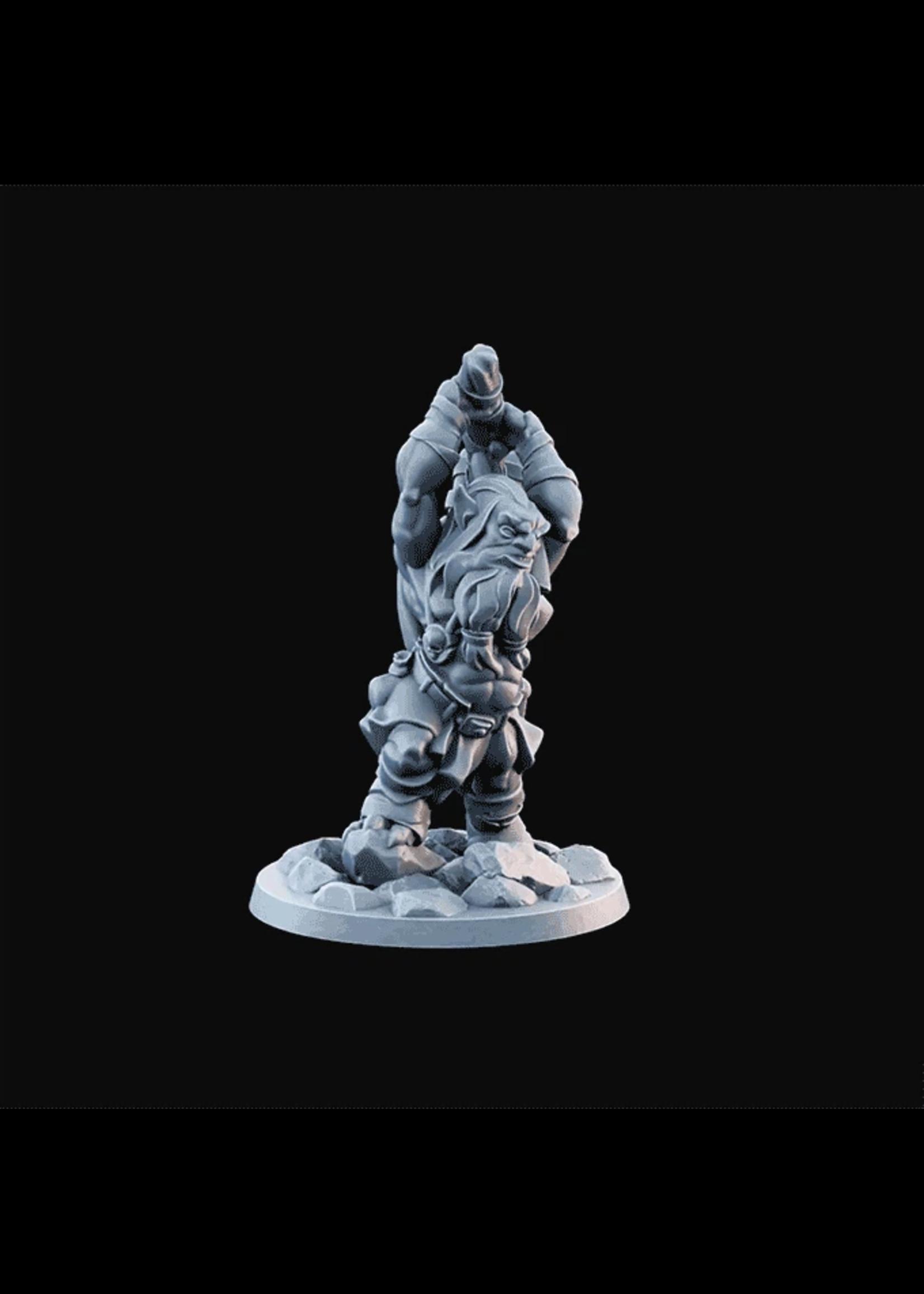 3D Printed Miniature - Goblin05  - Dungeons & Dragons - Desolate Plains KS