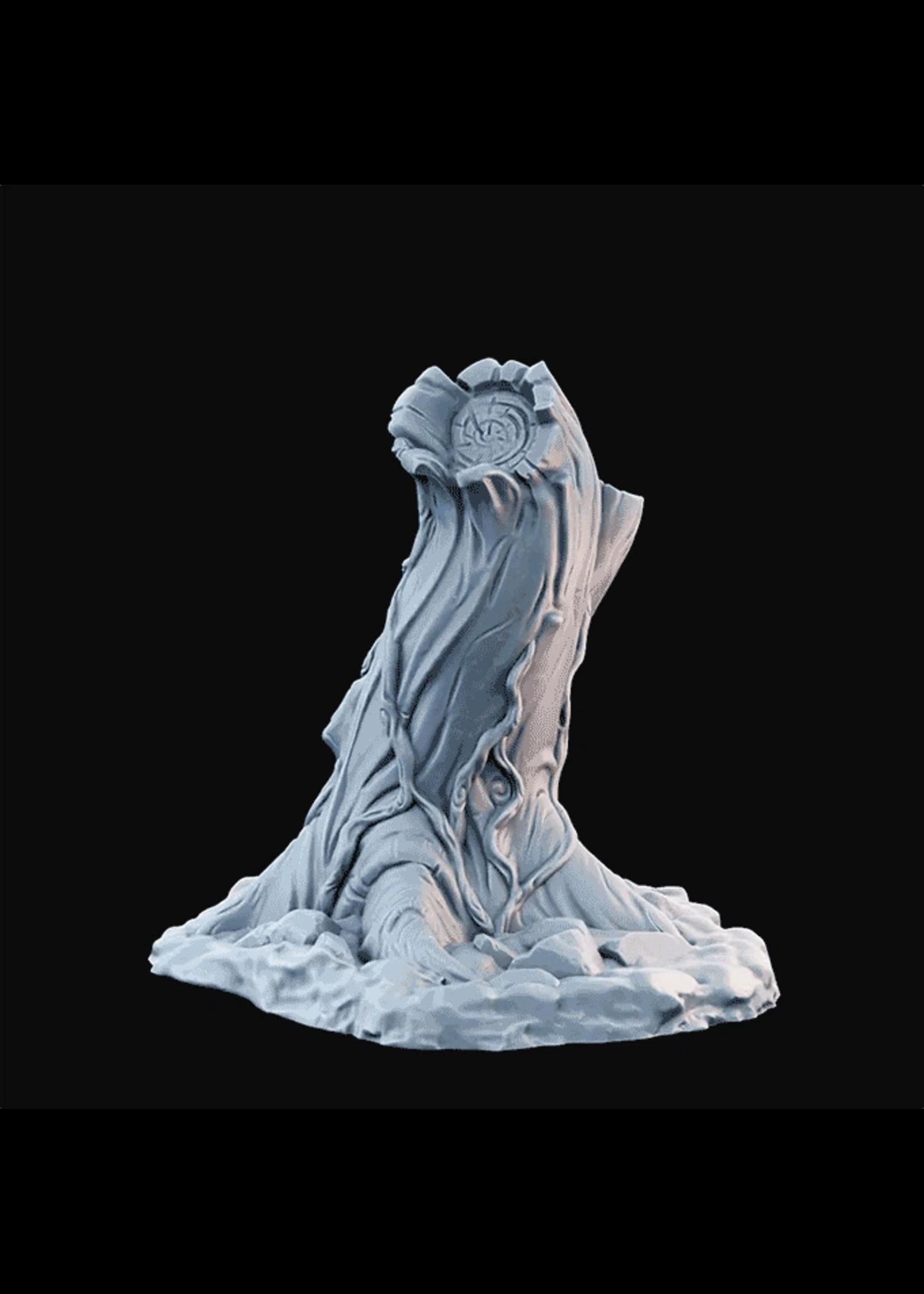 3D Printed Miniature - Tree01B - Dungeons & Dragons - Desolate Plains KS