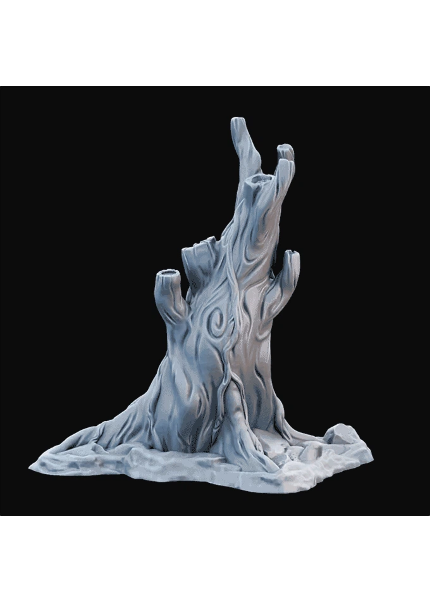 3D Printed Miniature - Tree02 - Dungeons & Dragons - Desolate Plains KS