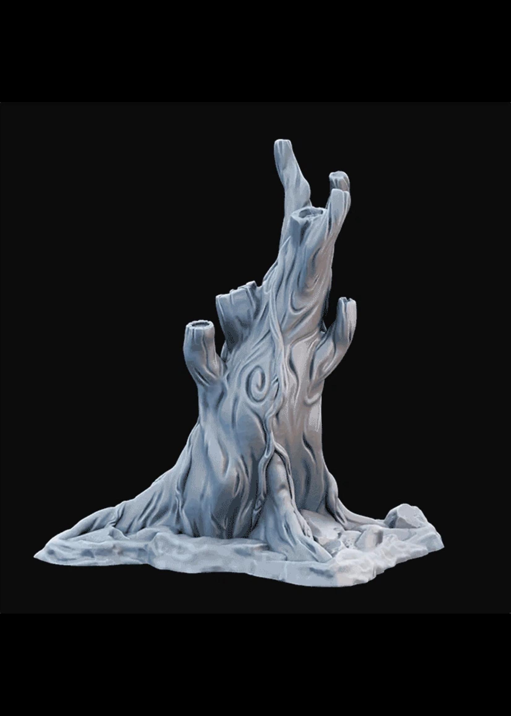 3D Printed Miniature - Tree02.Stl - Dungeons & Dragons - Desolate Plains KS