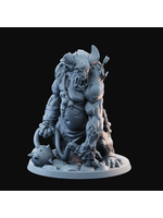3D Printed Miniature - Troll 05  - Dungeons & Dragons - Desolate Plains KS