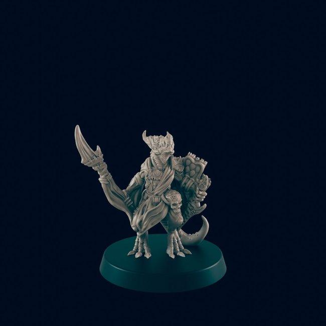 3D Printed Miniature - Kobold 1 - Dungeons & Dragons - Beasts and Baddies KS