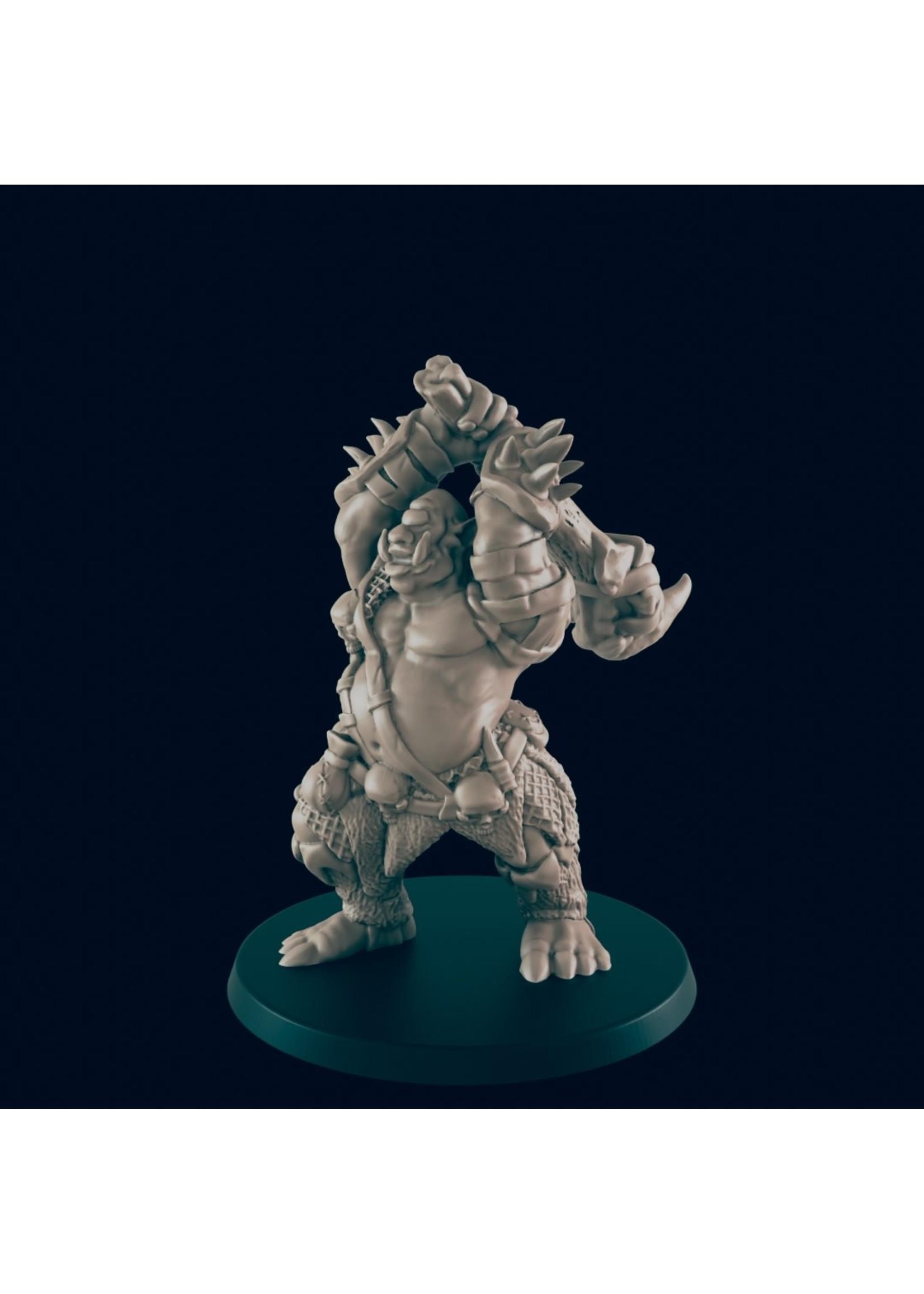 3D Printed Miniature - Cyclops - Dungeons & Dragons - Beasts and Baddies KS