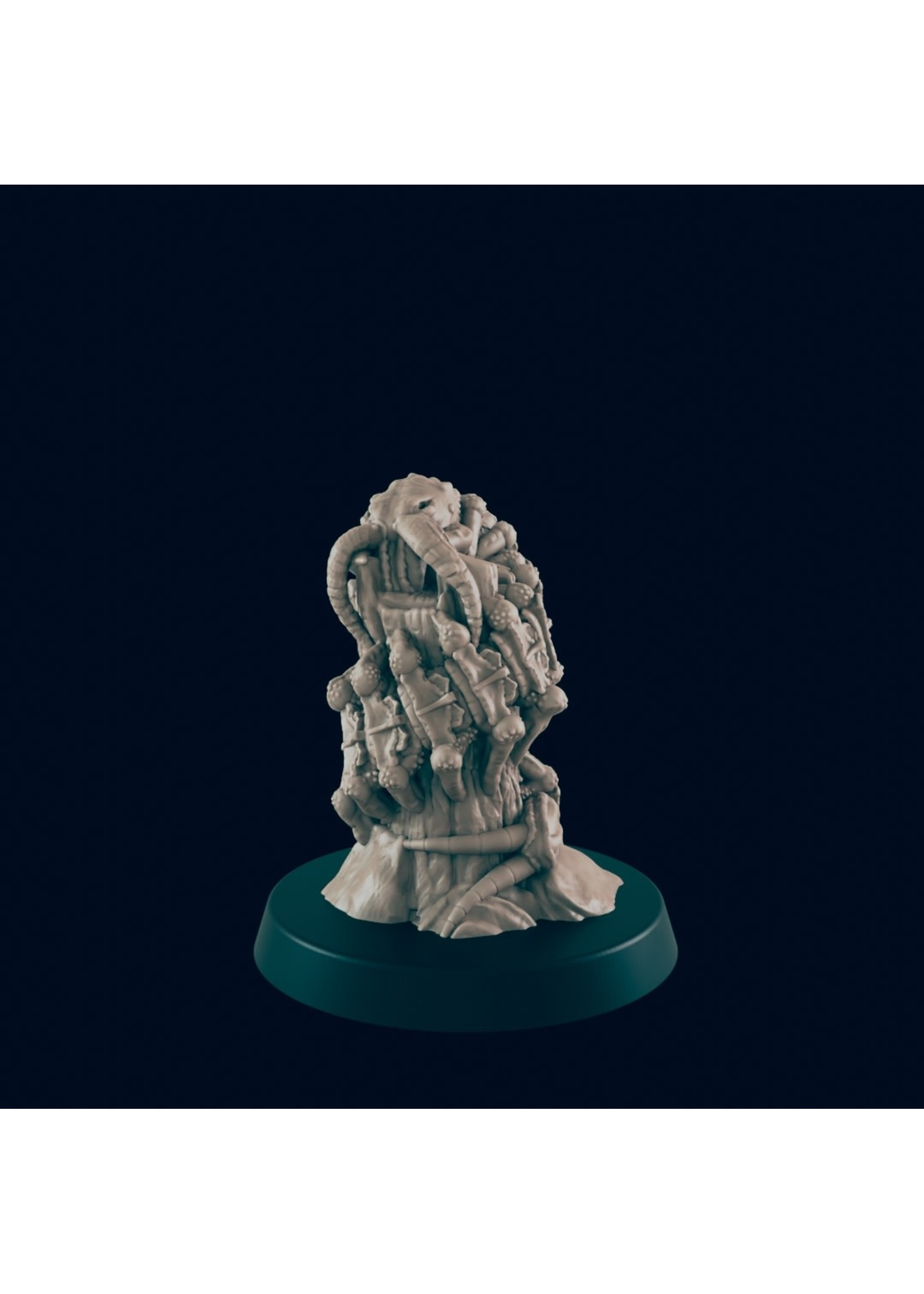 3D Printed Miniature - Giant Centipede - Dungeons & Dragons - Beasts and Baddies KS