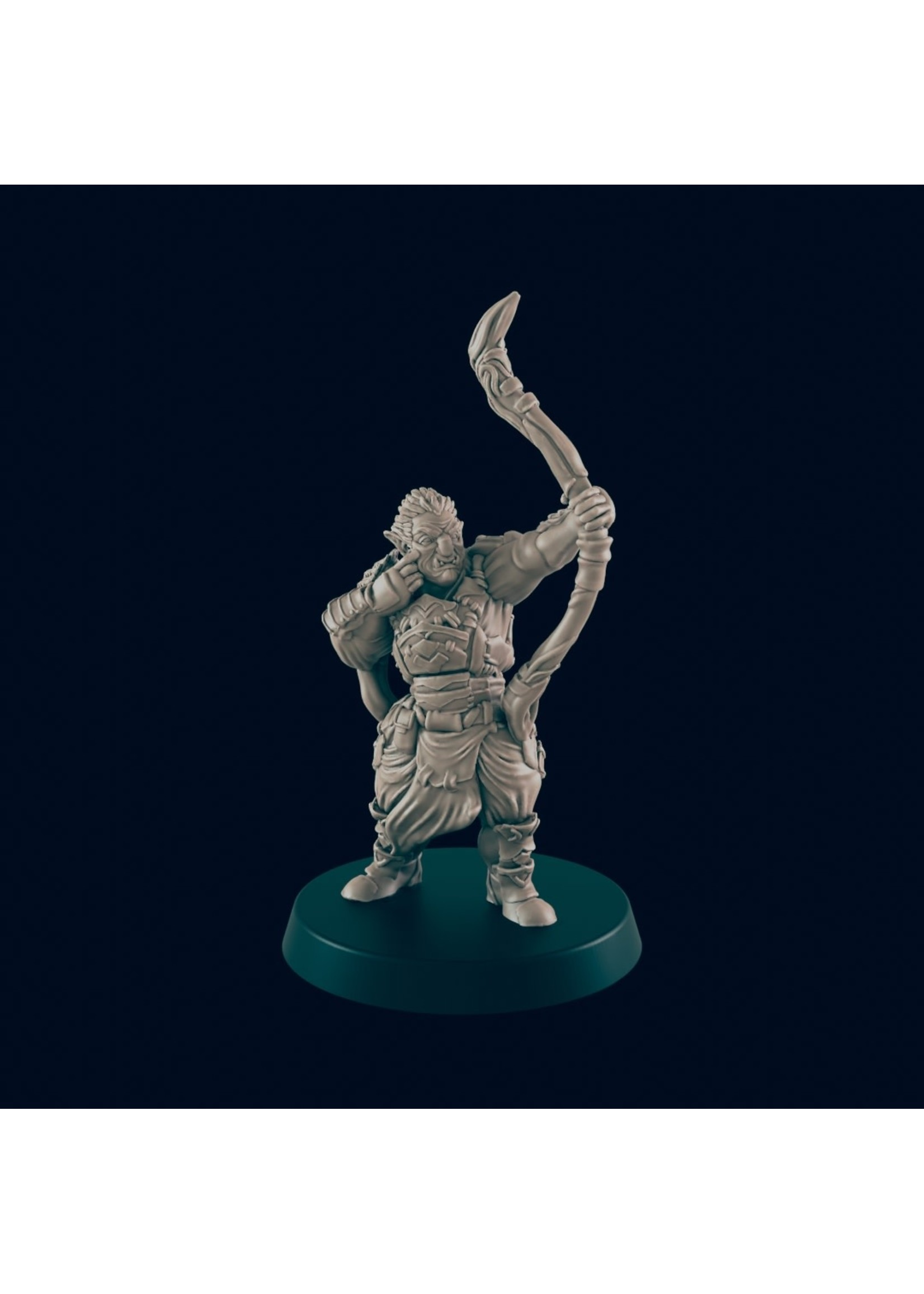 3D Printed Miniature - Hobgoblin 2 - Dungeons & Dragons - Beasts and Baddies KS