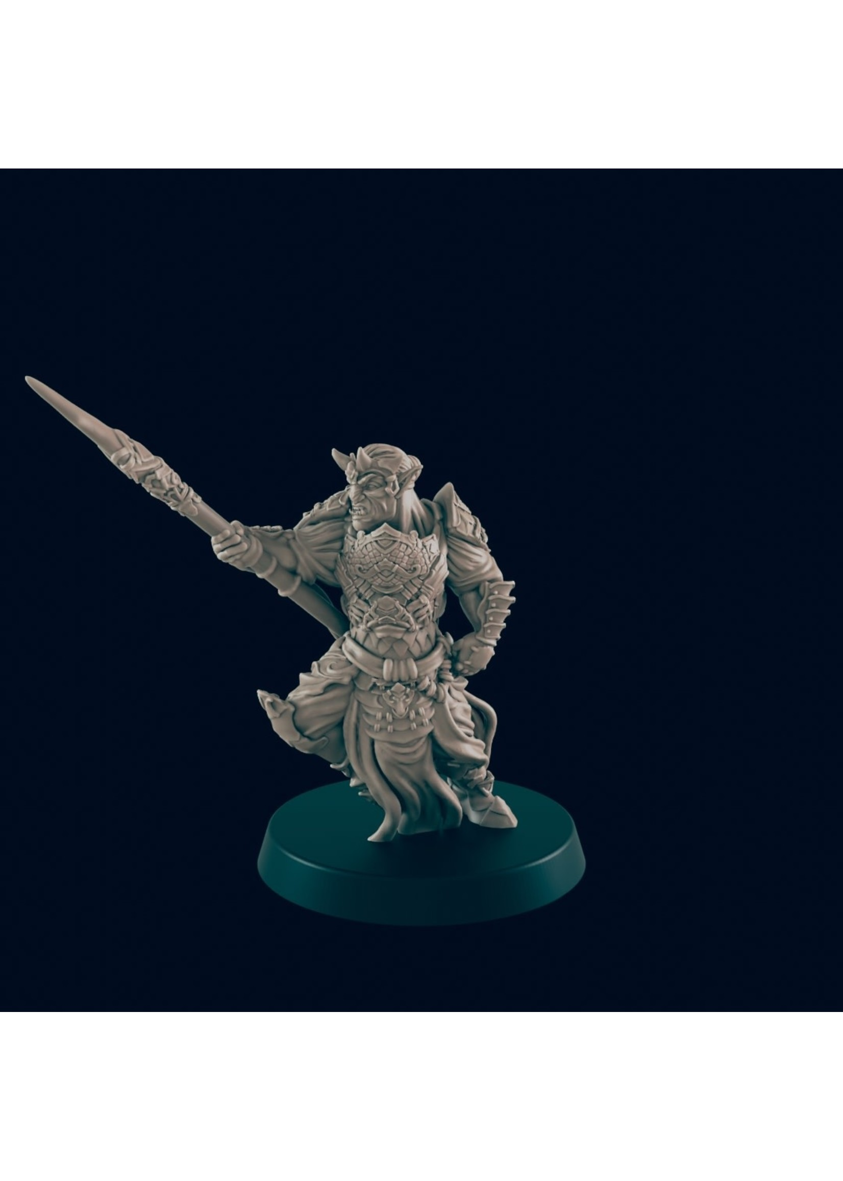 3D Printed Miniature - Hobgoblin 3 - Dungeons & Dragons - Beasts and Baddies KS