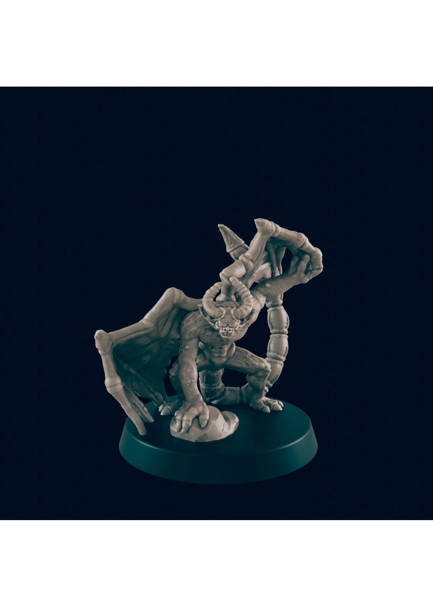 3D Printed Miniature - Imp 1 - Dungeons & Dragons - Beasts and Baddies KS