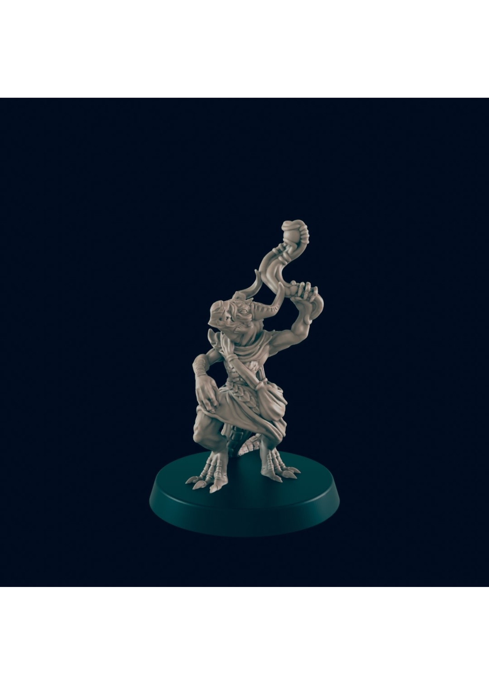 3D Printed Miniature - Kobold 3 - Dungeons & Dragons - Beasts and Baddies KS