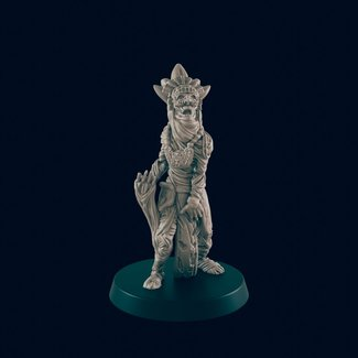 3D Printed Miniature - Mummy Lord - Dungeons & Dragons - Beasts and Baddies KS