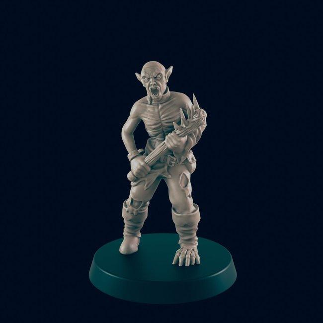 3D Printed Miniature - Vampire Thrall 1 - Dungeons & Dragons - Beasts and Baddies KS