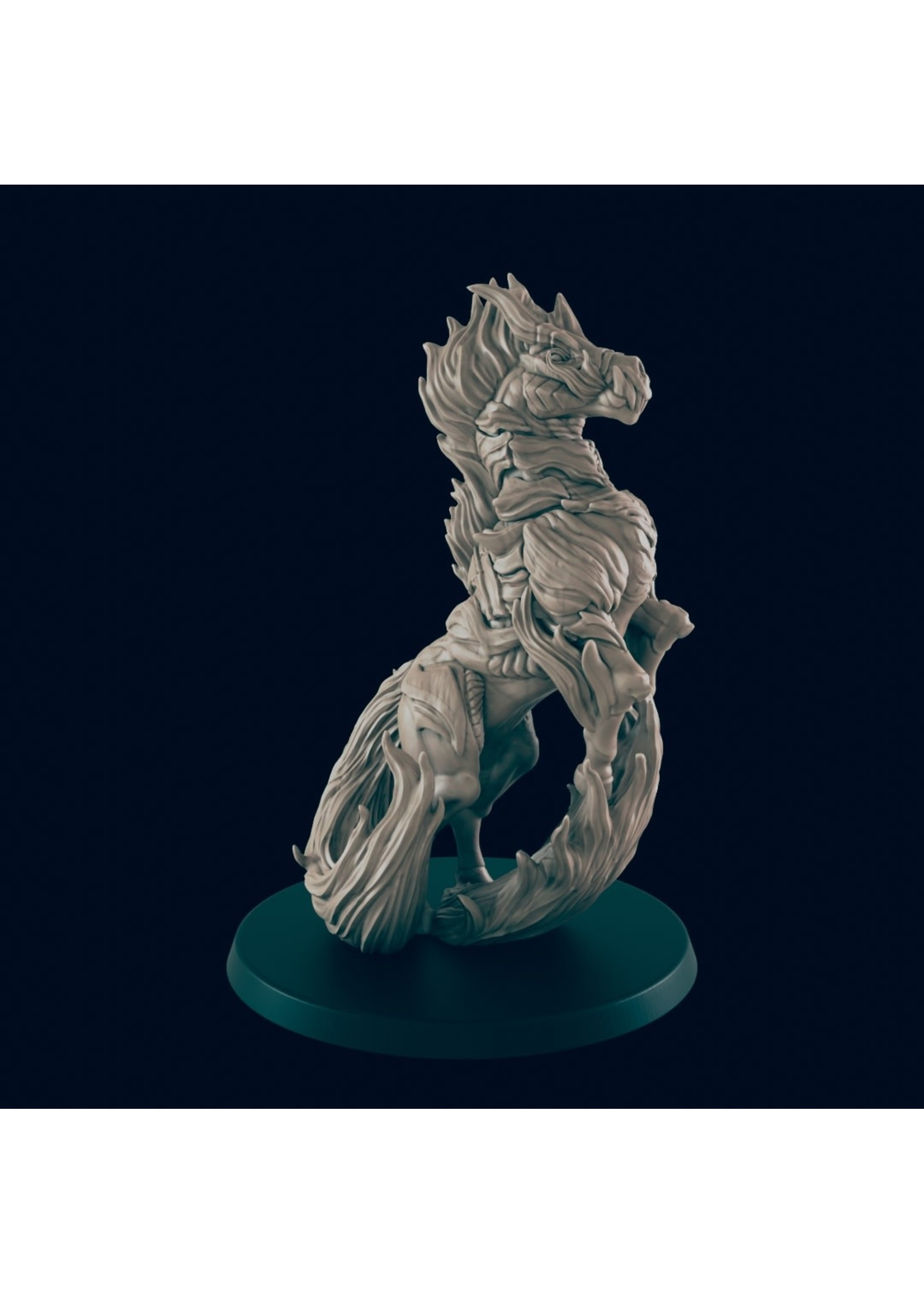 3D Printed Miniature - Nightmare - Dungeons & Dragons - Beasts and Baddies KS