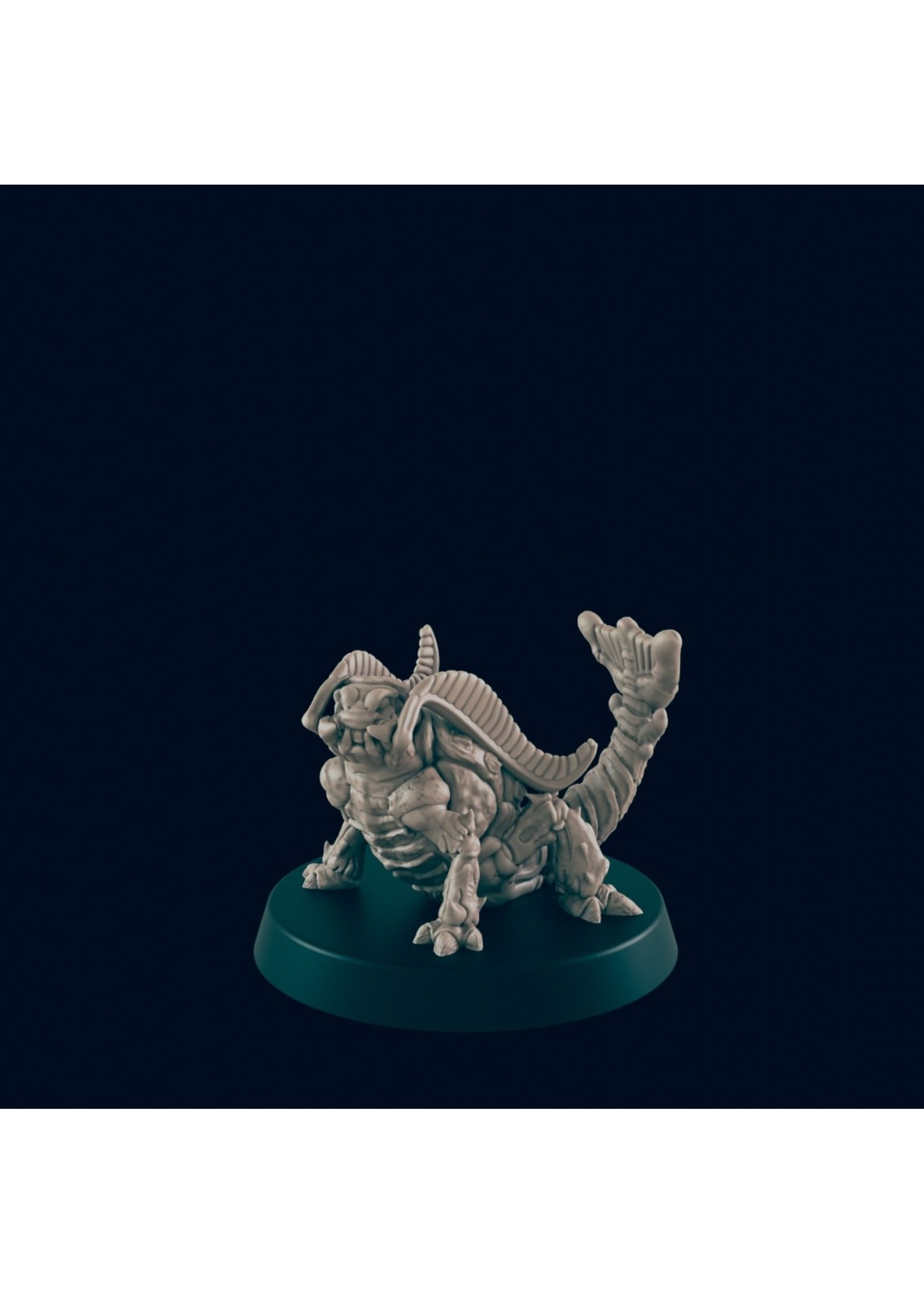 3D Printed Miniature - Rust Monster - Dungeons & Dragons - Beasts and Baddies KS