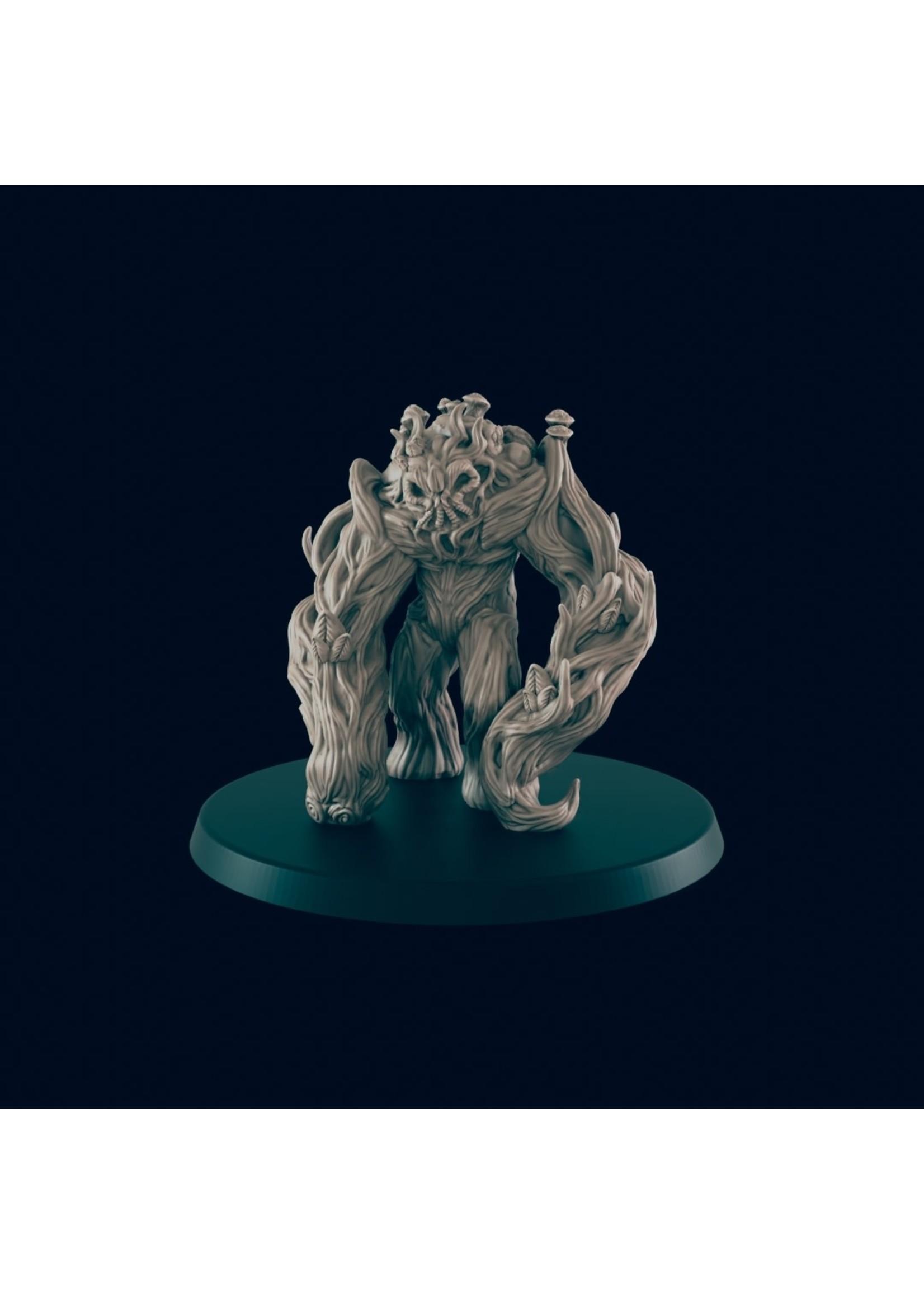 3D Printed Miniature - Shambler - Dungeons & Dragons - Beasts and Baddies KS