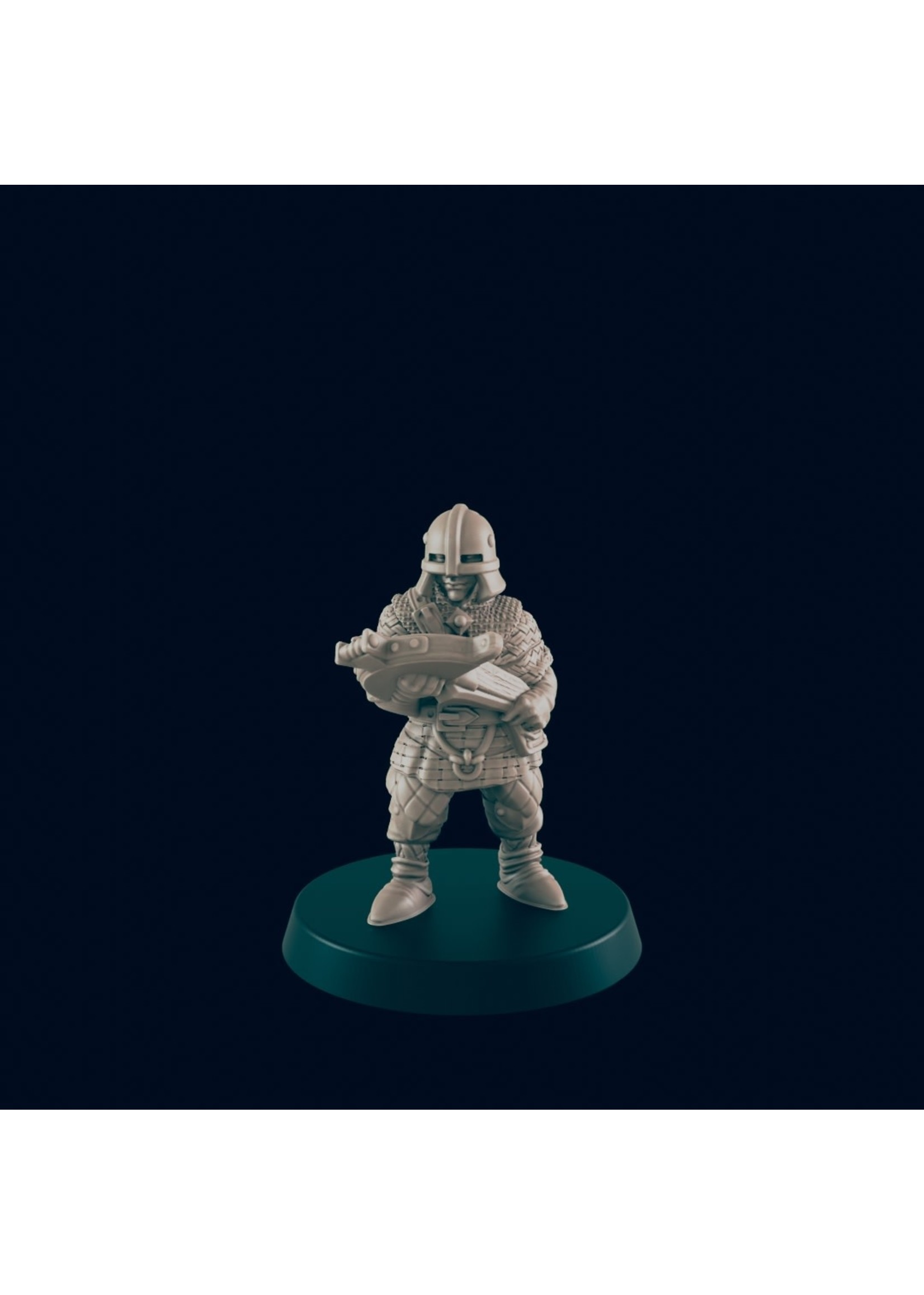 3D Printed Miniature - Guard Archer - Dungeons & Dragons - Beasts and Baddies KS