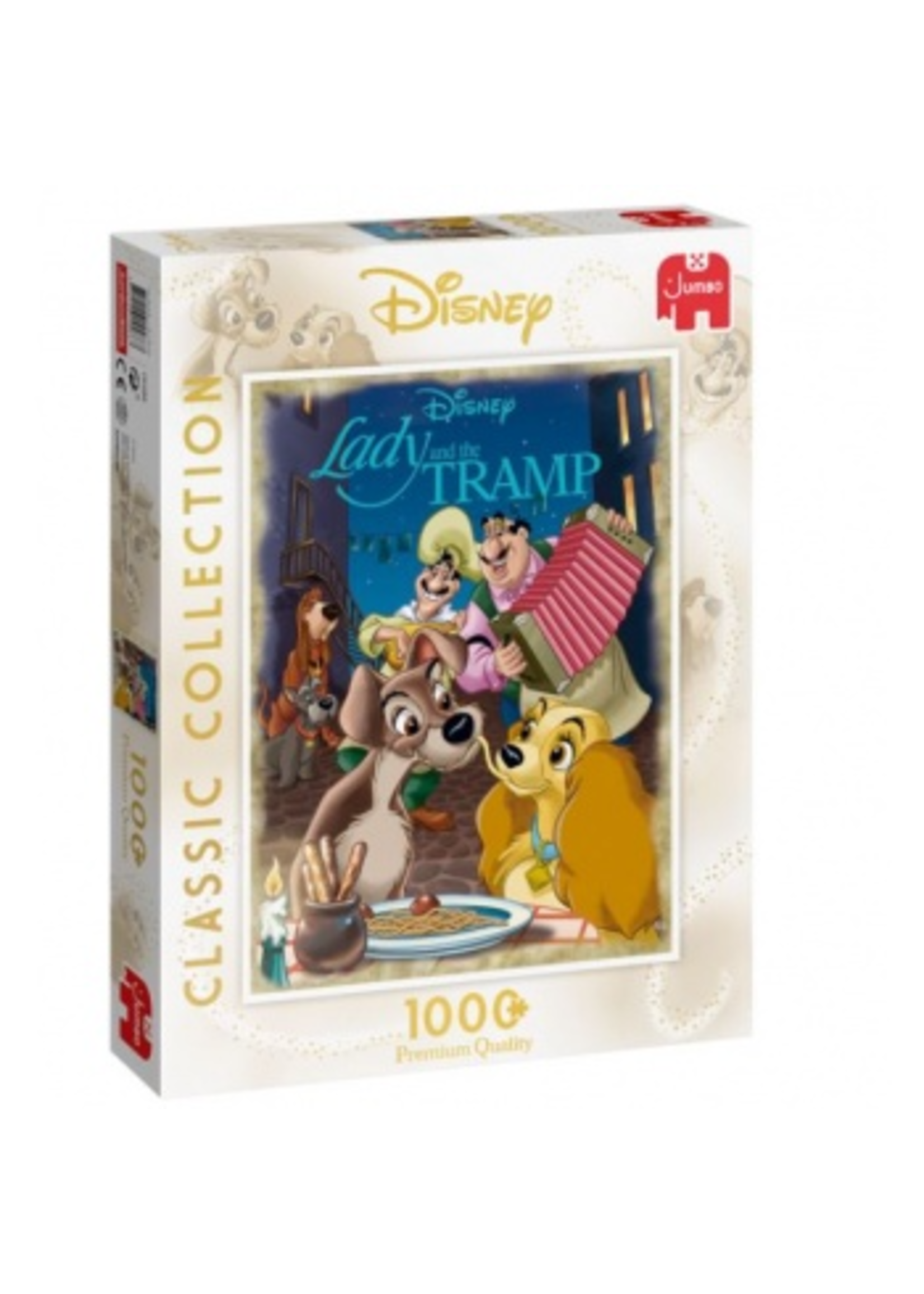 Disney Pix Collection Lady & The Tramp - 1000 St