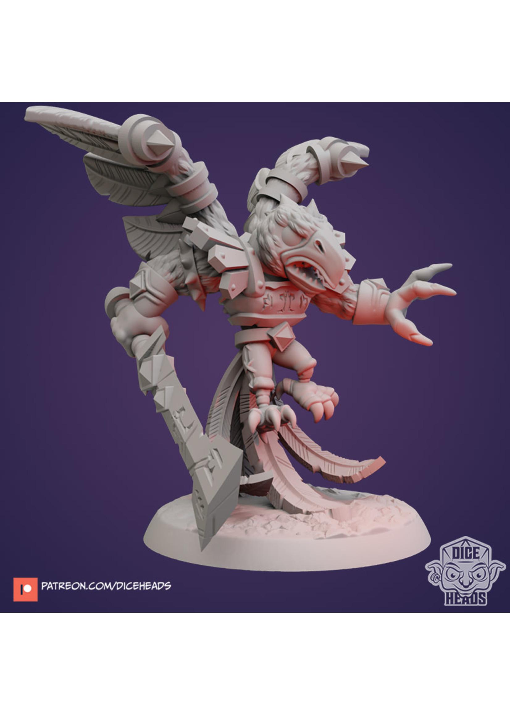 3D Printed Miniature - Devil Bird - Dungeons & Dragons - Zoontalis KS