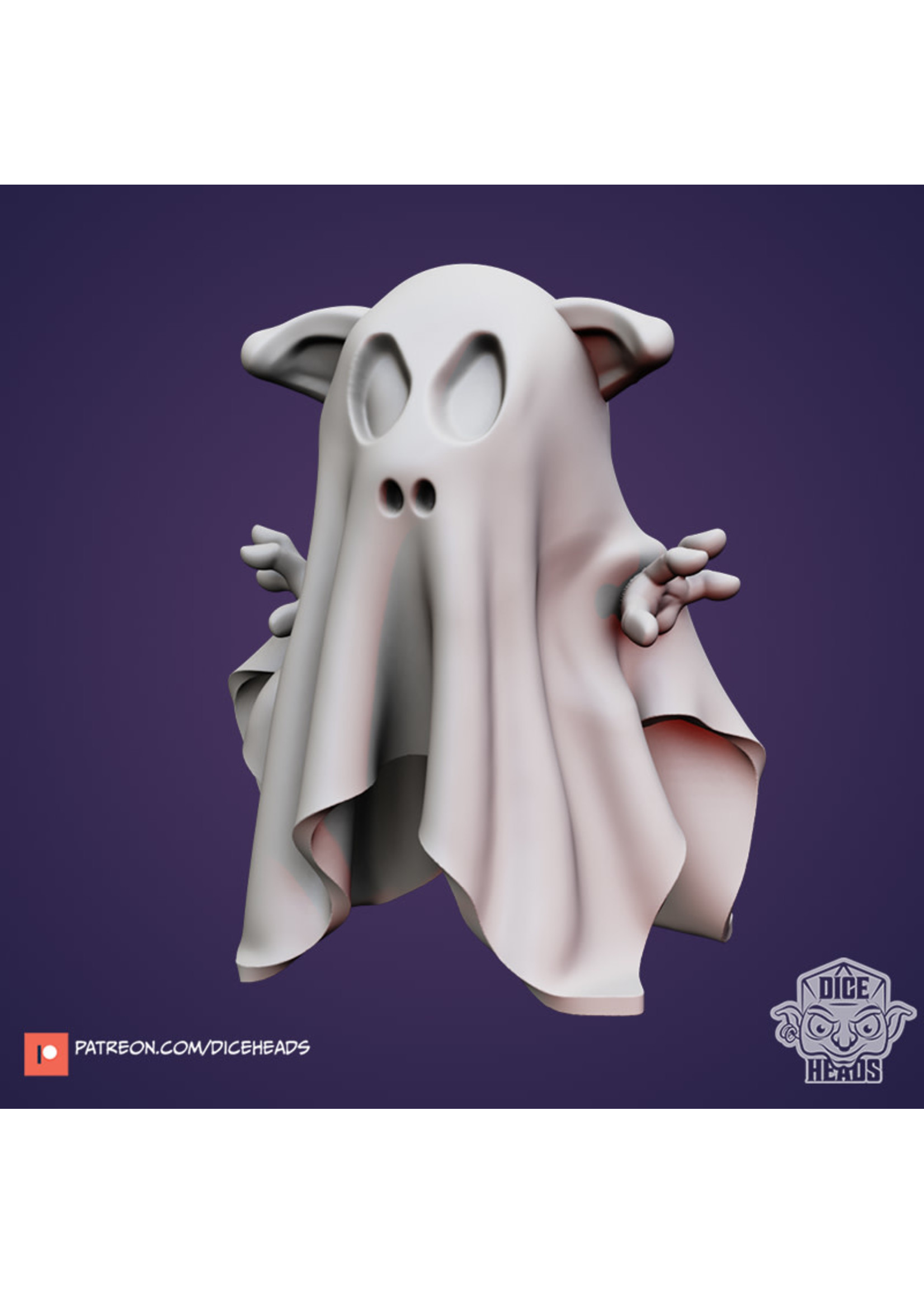 3D Printed Miniature - Hog Ghost - Dungeons & Dragons - Zoontalis KS