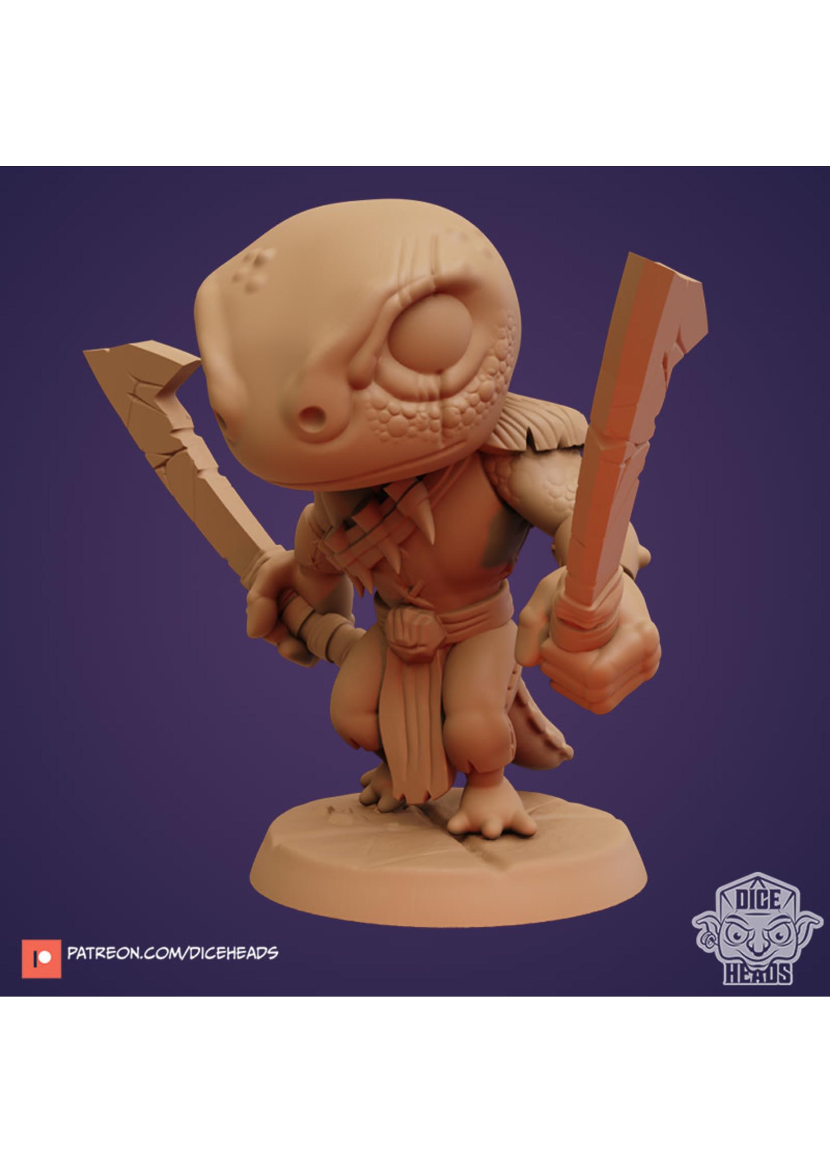 3D Printed Miniature - Manderick 1 - Dungeons & Dragons - Zoontalis KS