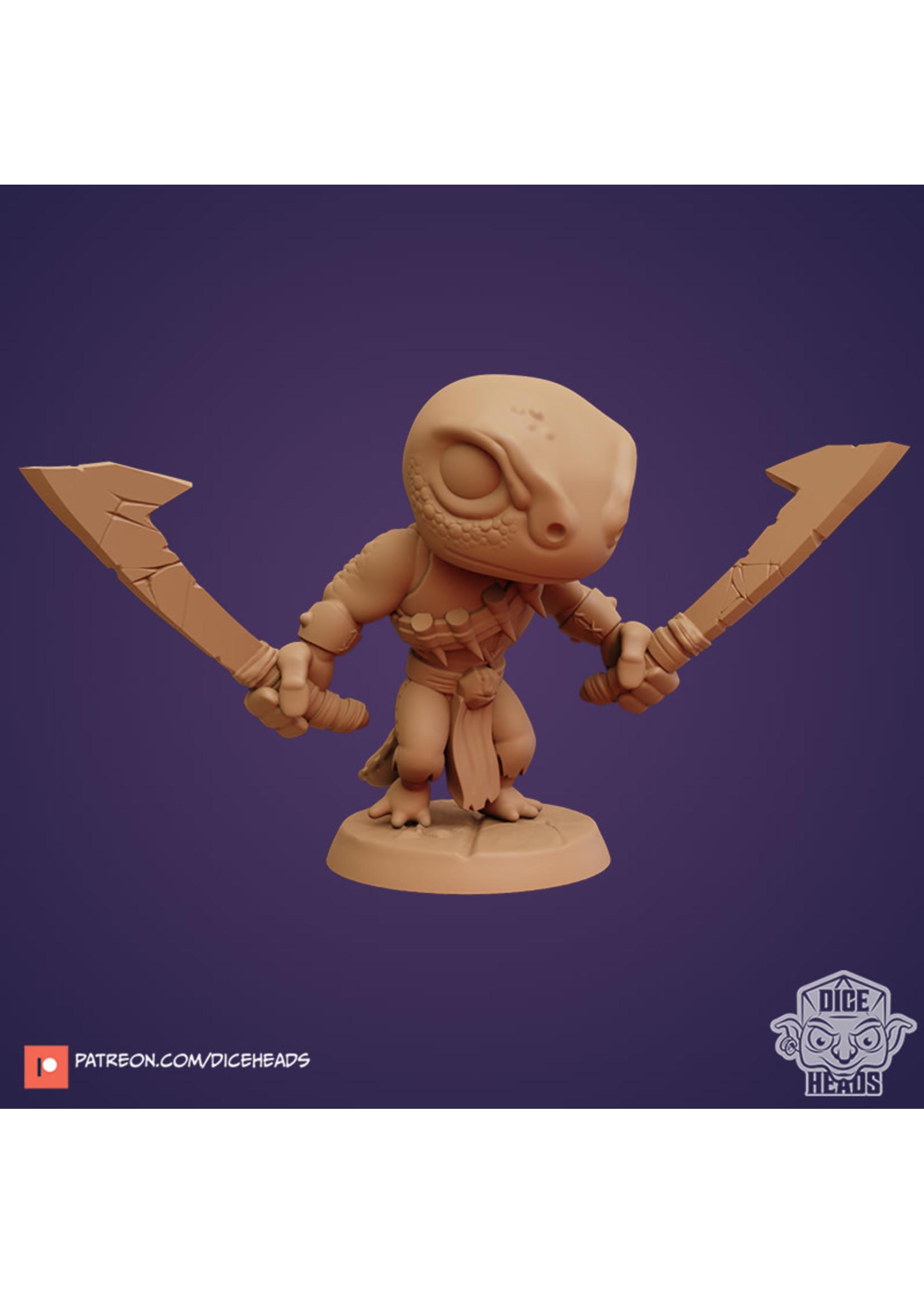 3D Printed Miniature - Manderick 2 - Dungeons & Dragons - Zoontalis KS