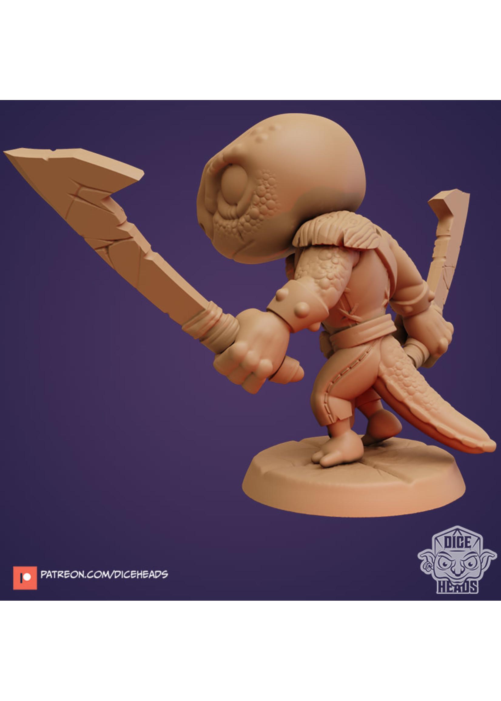 3D Printed Miniature - Manderick 3 - Dungeons & Dragons - Zoontalis KS