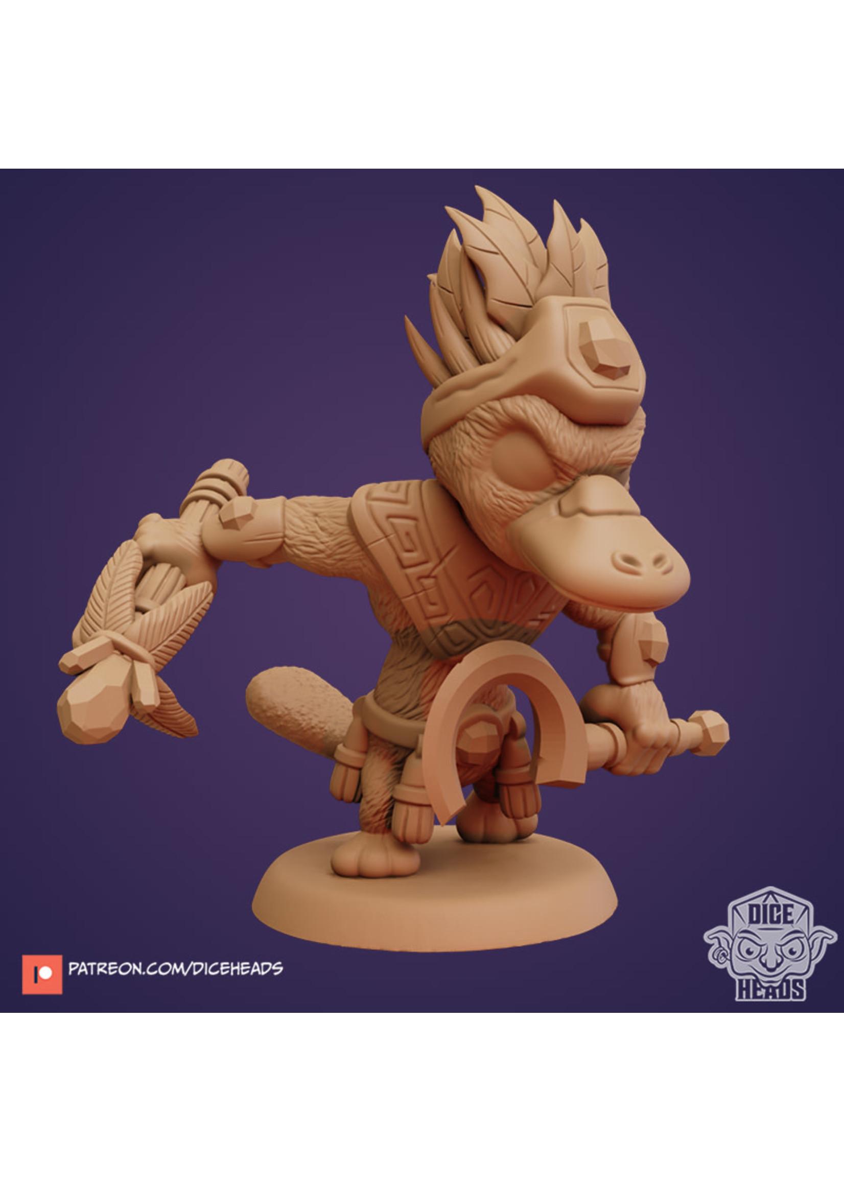 3D Printed Miniature - Platypus Druid - Dungeons & Dragons - Zoontalis KS