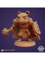 3D Printed Miniature - Tiger Fighter - Dungeons & Dragons - Zoontalis KS