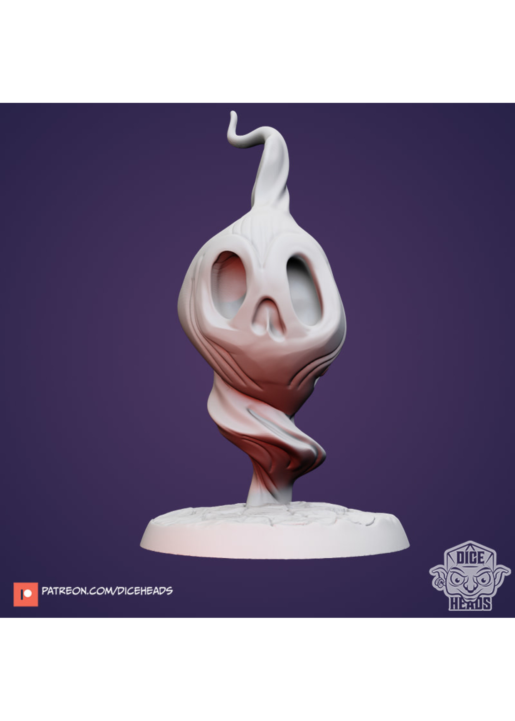 3D Printed Miniature - Will-O-Wisp - Dungeons & Dragons - Zoontalis KS