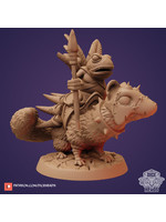 3D Printed Miniature - Weasel Rider - Dungeons & Dragons - Zoontalis KS