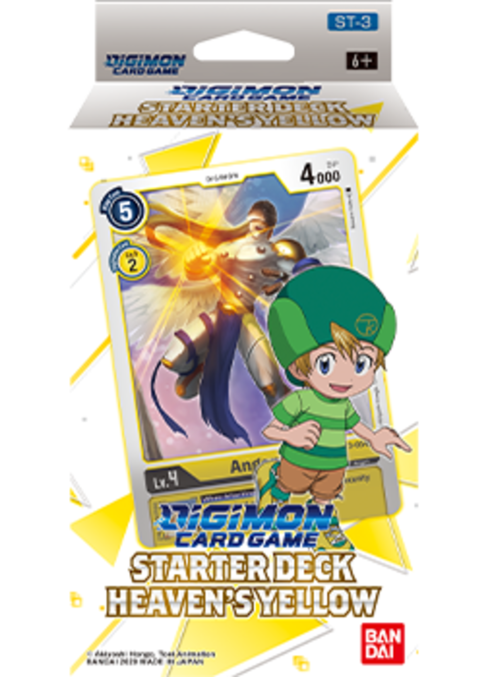 Digimon Card Game - Starter Deck Heaven's Yellow ST-3