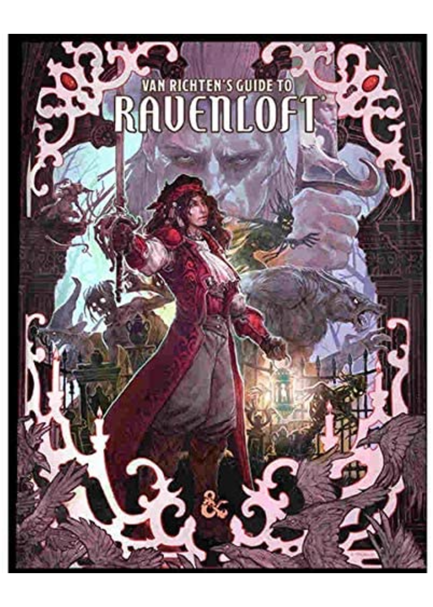 Dungeons & Dragons Next Van Richten's Guide to Ravenoft ALT Cover