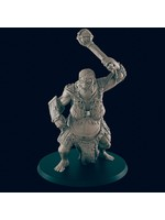 3D Printed Miniature - Hill Giant Female  - Dungeons & Dragons - Beasts and Baddies