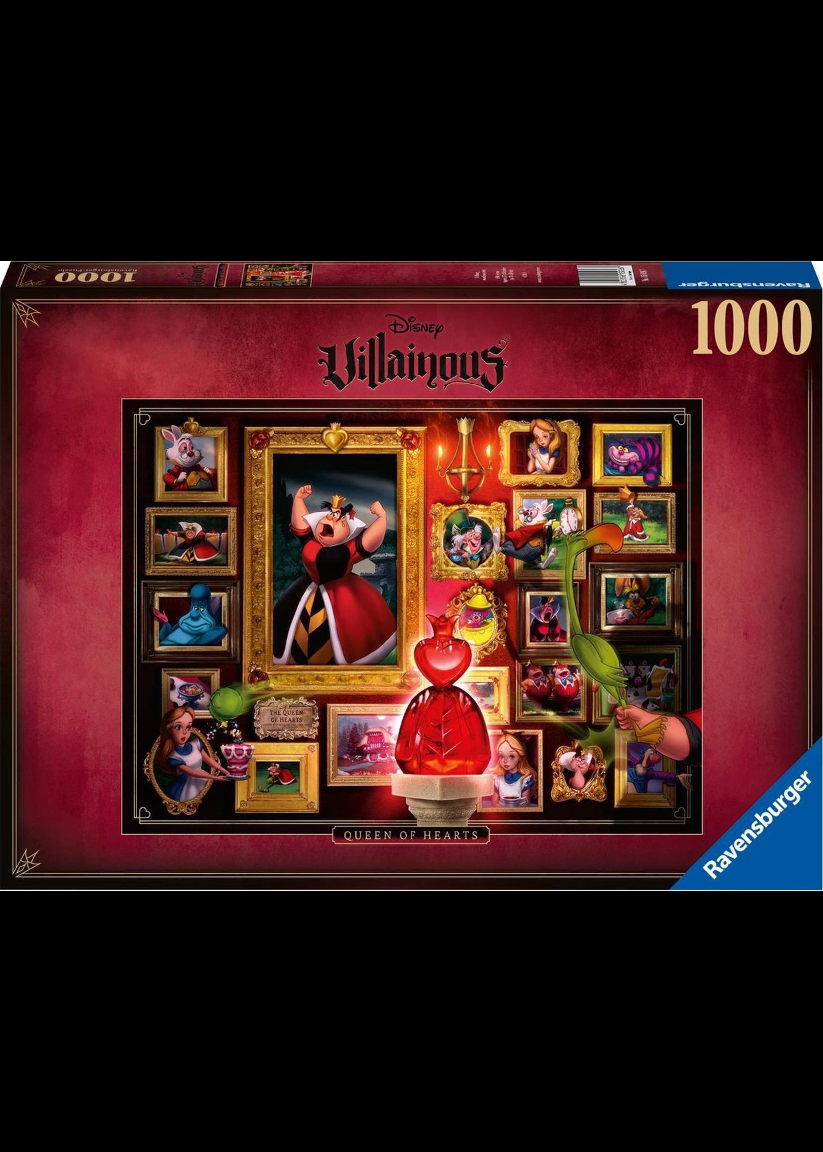Disney Villainous - Queen Of Hearts  (1000)
