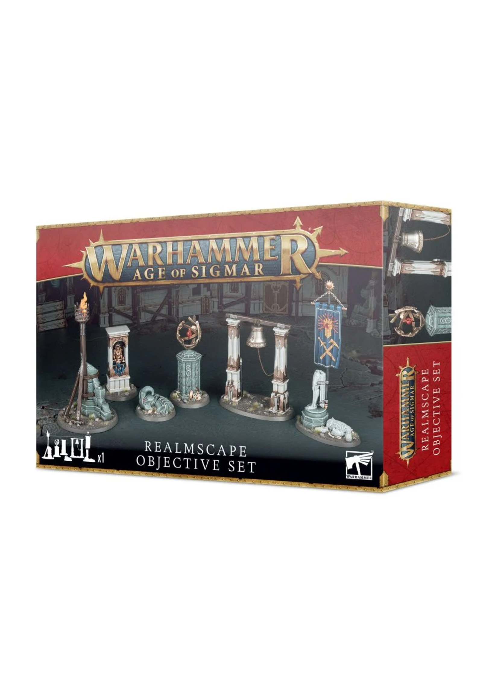 AGE OF SIGMAR: REALMSCAPE OBJECTIVE SET
