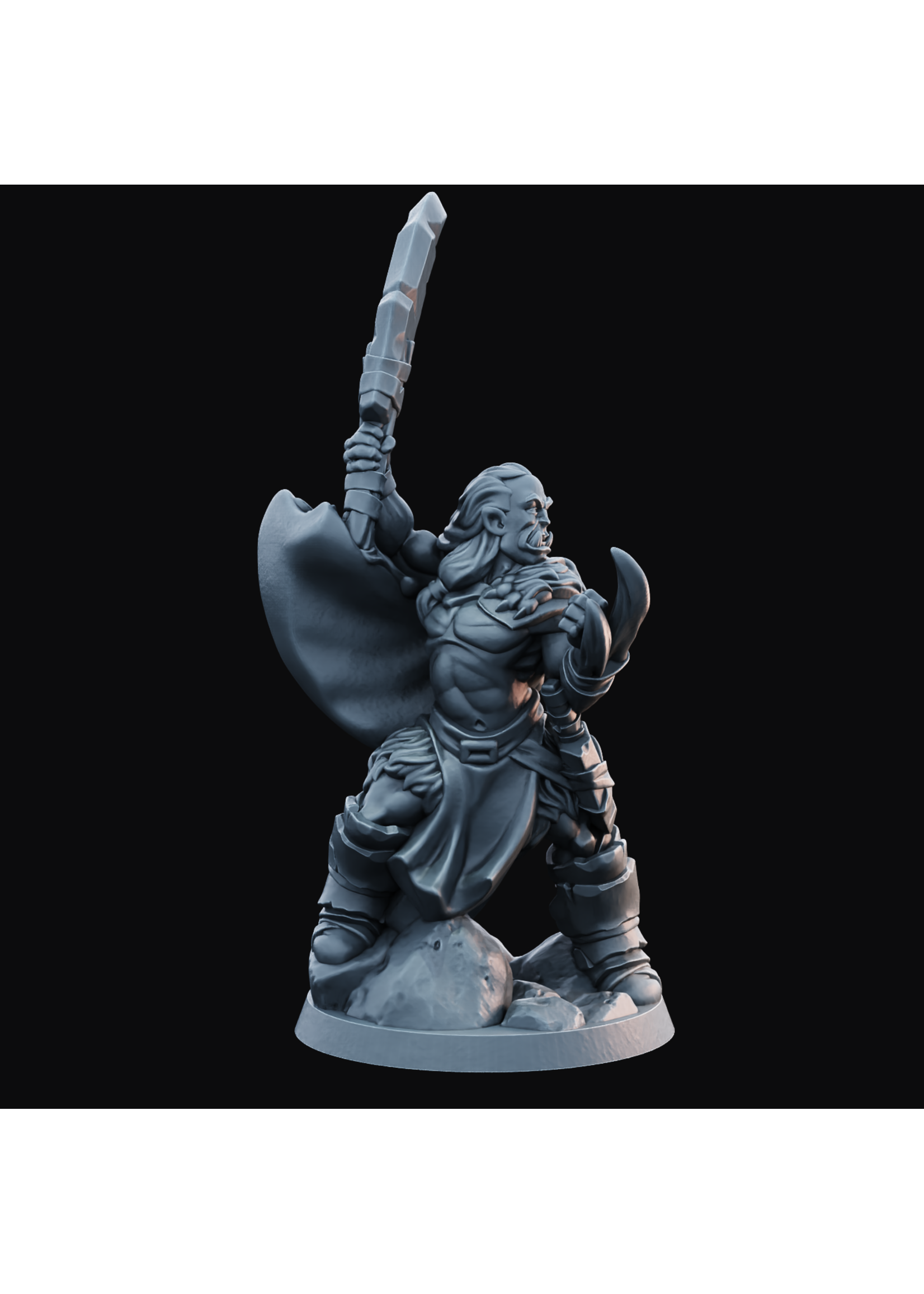 Half-Orc Male 01 - Hero of the Realm KS