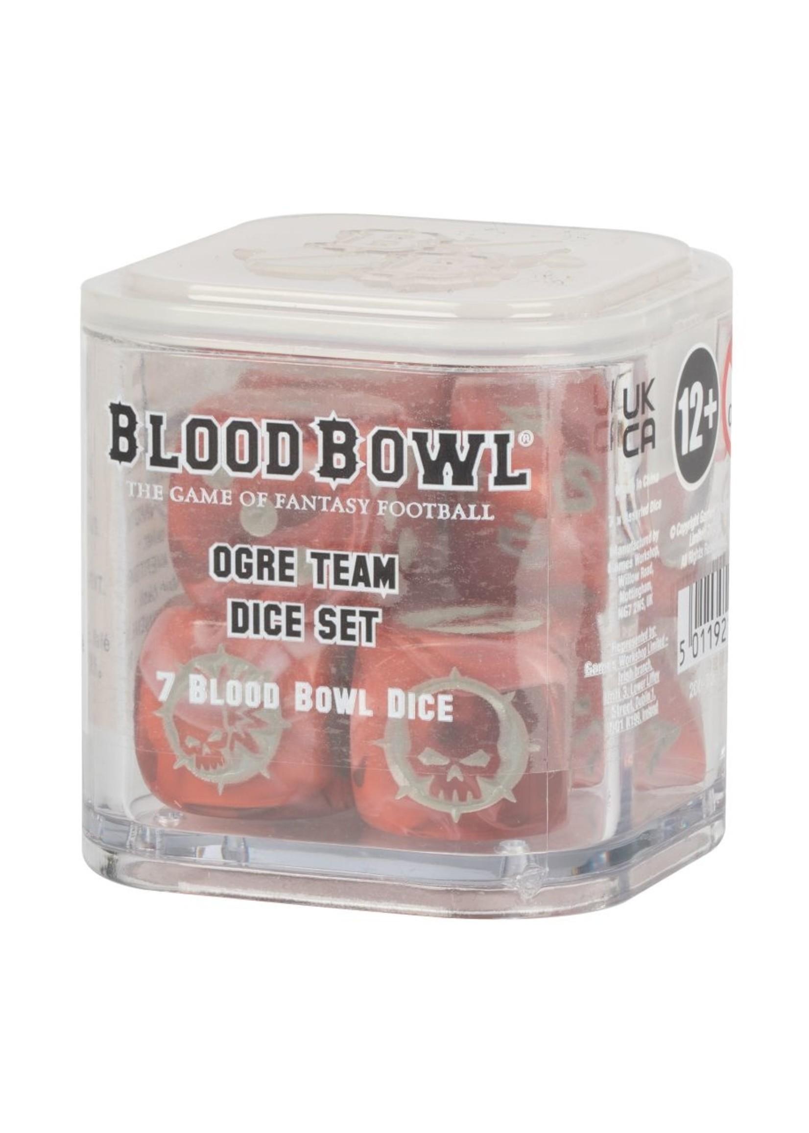 Blood bowl Ogre Dice