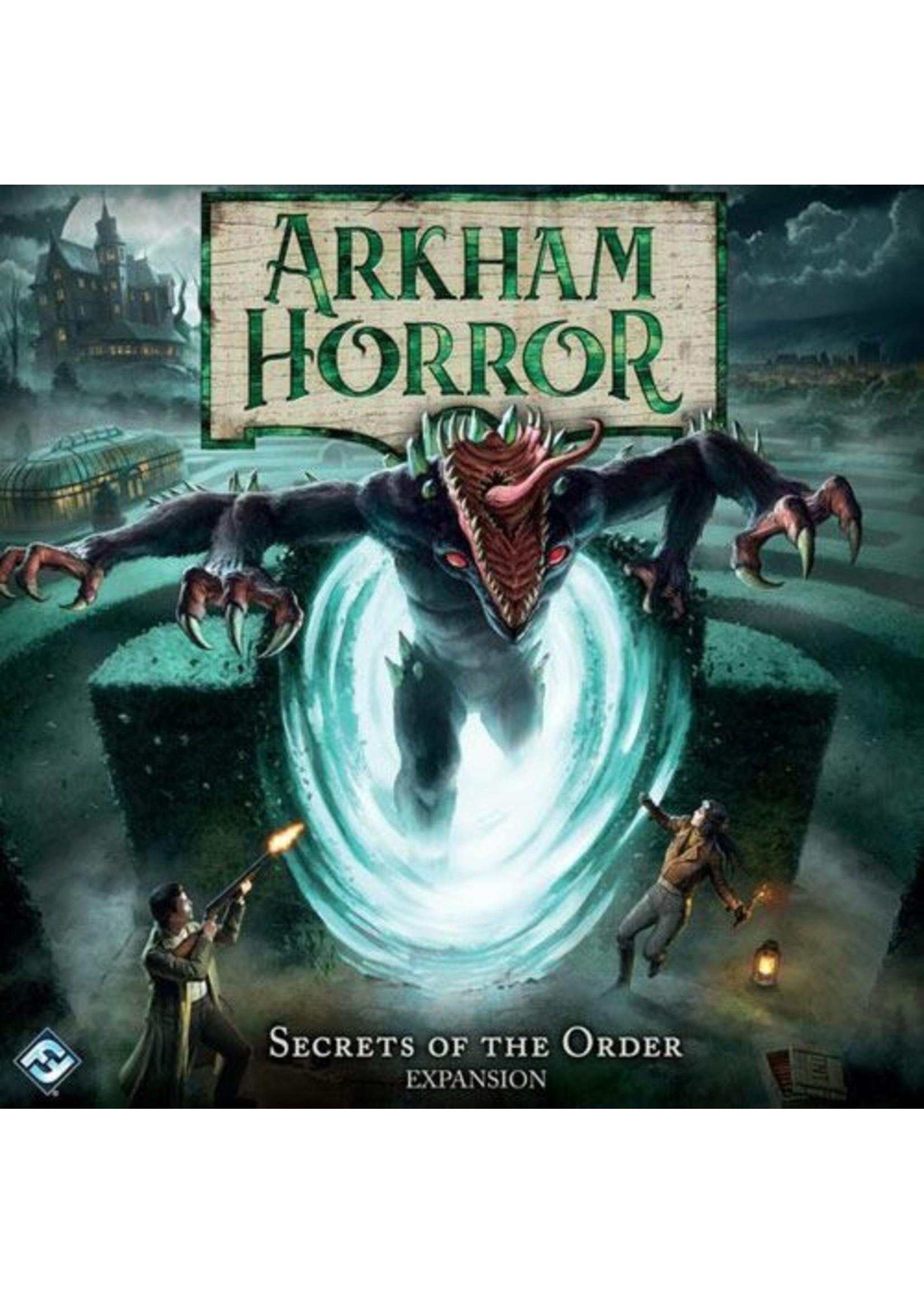 Arkham Horror 3rd Ed Secrets of the Order