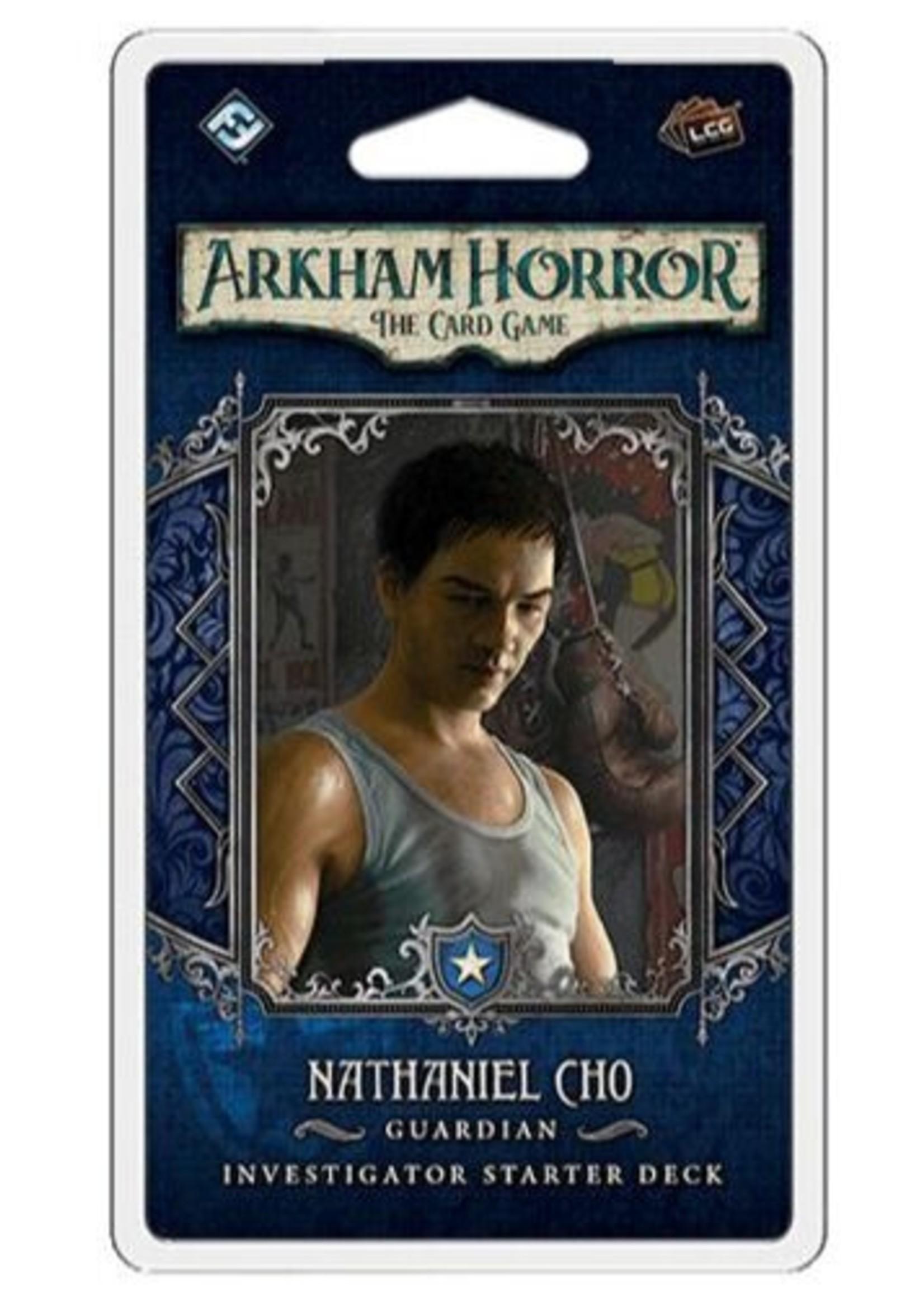 Arkham Horror LCG Nathaniel Cho