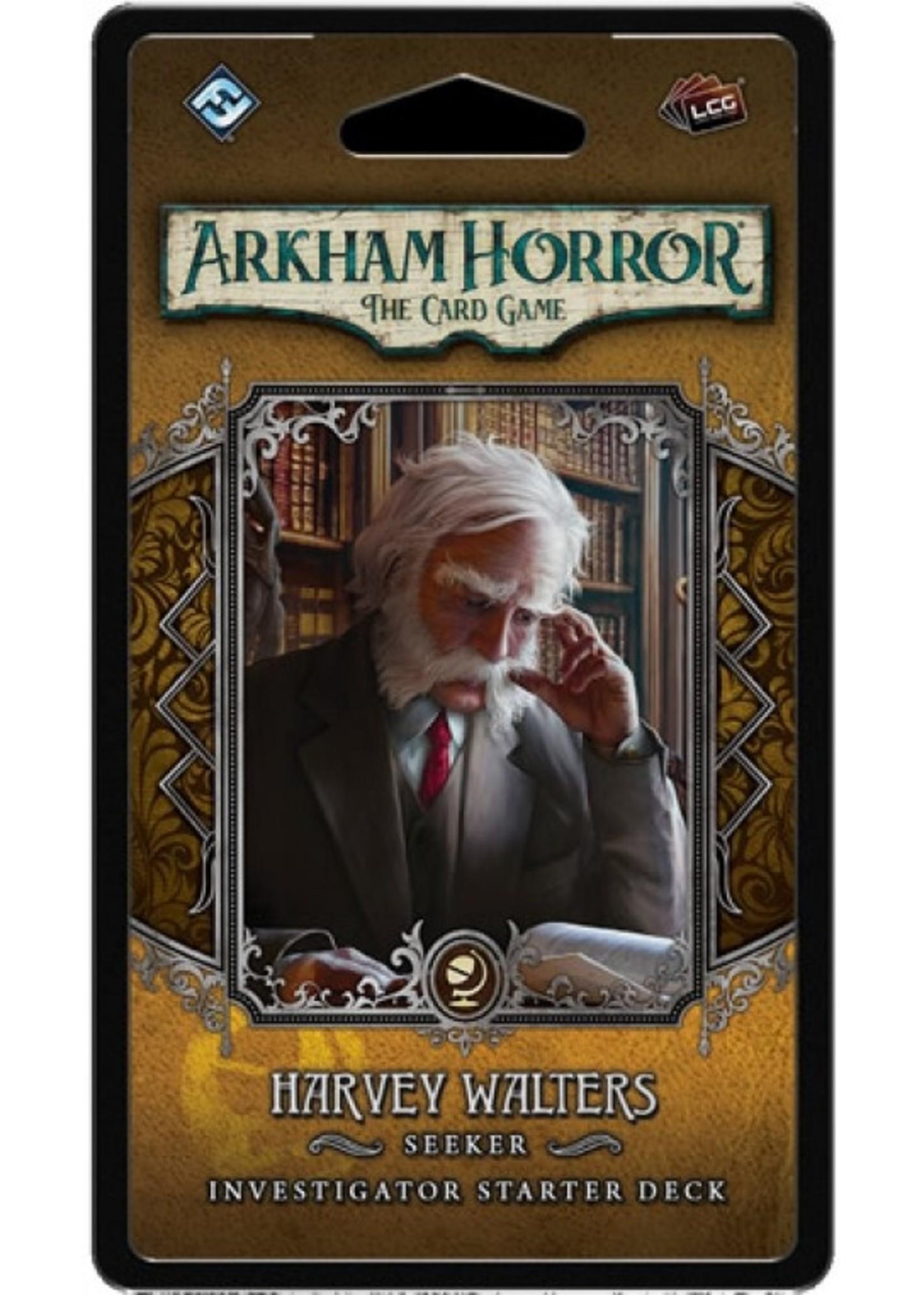 Arkham Horror LCG Harvey Walters