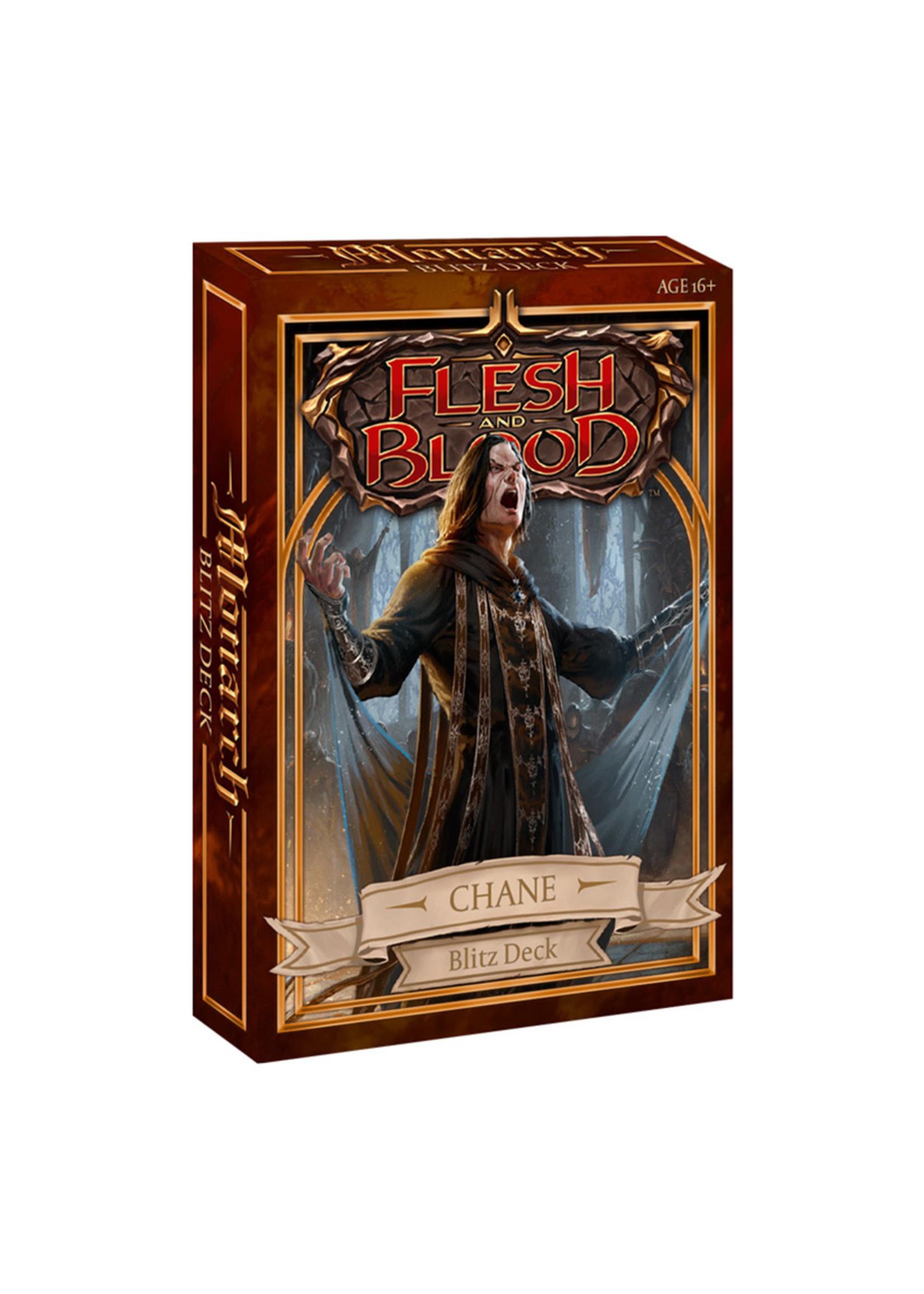 Flesh & Blood TCG - Monarch Blitz Deck Chane